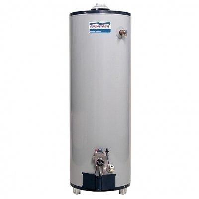 Водонагреватель American Water Heater G61-40T40-3NV150 литров<br>Mor-Flo G61-40T40-3NV   это  газовый накопительный многофункциональный водонагреватель, который универсален в монтаже и использовании. Представленная модель отличается небольшими размерами, имеет отличную теплоизоляцию и антикоррозийную защиту.<br> <br>Основные особенности представленной модели:<br><br>тип оборудования: накопительный;<br>способ нагрева воды: газовый;<br>электронное управление оборудованием;<br>качественный магниевый анод;<br>открытая камера сгорания;<br>высококачественная изоляция;<br>функция защиты от замерзания;<br>класс защиты IP 24;<br>эффективная работа прибора;<br>встроенный  штуцер слива;<br>компактные размеры;<br>простое управление;<br>высокое качество сборки;<br>высокий уровень системы безопасности;<br>автоматическое отключение при отсутствии воды;<br>плавная регулировка температуры;<br>современный внешний вид  оборудования;<br>100% гарантия качества.<br><br> <br>Накопительные водонагревательные приборы Mor-Flo имеют ряд неоспоримых достоинств: прибор весьма экономично расходует газ, имеет долгий срок службы и совсем незначительные теплопотери. Кроме того, оборудование Mor-Flo отвечает всем международным стандартам безопасности и качества.<br> <br><br>Страна: США<br>Производитель: США<br>Перевод на сжиженный газ: Нет<br>Магниевый анод: Да<br>Объем, л: 151<br>Темп. нагрева, С: 70<br>Давление: None<br>Мощность, кВт: 10,2<br>Тип камеры: Открытая<br>Защита: ограничение температуры нагрева, магниевый анод, защита от перегрева<br>Установка: Напольная<br>Покрытие бака: Эмаль<br>Розжиг: Пьезорозжиг<br>Размеры ШхВхГ, см: 45,7x153x45,7<br>Вес, кг: 55<br>Гарантия: 6 лет<br>Ширина мм: 457<br>Высота мм: 1530<br>Глубина мм: 457