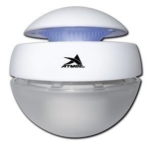 Увлажнитель воздуха Атмос АКВА-1300Традиционные<br>Эффективная и компактная модель АТМОС АКВА-1300.Очиститель воздуха имеет три основных составных детали: корпус, водяной резервуар и фильтр. На средней части корпуса по окружности содержатся отверстия для вывода воздуха, а на тыльной   круглая кнопка управления со светодиодом и гнездо для подключения сетевого провода. Внутри корпуса располагаются: вентилятор, светодиодная подсветка и генератор отрицательных ионов. Водяной резервуар содержит направляющее гнездо для установки фильтра.<br> <br>Особенности функционирования и технологические преимущества:<br><br>Главным фильтром в приборе является вода<br>Светодиодная подсветка<br>Оборудование состоит из двух основных деталей: корпуса и водяного резервуара<br>Превосходная эффективность очищения воздуха от мелкодисперсной пыли с одновременным увлажнением<br>Разработана специальная кнопка управления со светодиодом<br>Качественная и быстрая нейтрализация статического электричества<br>Новое поколение гидроионизации и биологической стерилизации<br>В комплекте прилагается флакон с ароматической добавкой<br>Отключаемая ночная подсветка<br>Качественная и быстрая нейтрализация статического электричества<br>Незаметное, но удобное гнездо для подключения питания 12 В<br>Вмонтирован дисковый вентилятор с ротационным конусом<br>Применяется бесшумный электродвигатель <br><br>Несмотря на свои компактные размеры, представленная модель достаточно хорошо оснащена с функциональной, так и с технической стороны. Естественный принцип работы гарантирует высокую производительность, эффективность и экологическую чистоту всех происходящих процессов. Фильтром является обычная водопроводная вода, которая является также одним из дешевых материалом. Корпус изготовлен из специального пластика, который имеет хорошие антикоррозийные свойства и износостойкость. <br><br>Страна: Германия<br>Производитель: Тайвань<br>Площадь, м?: 35<br>Площадь по очистке, м?: 35<br>Воздухообмен, мsup3;/ч: Нет<br>Колво режимов