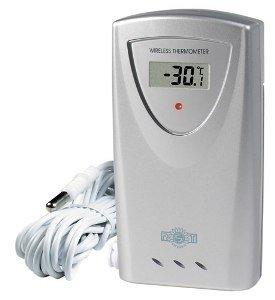 Радиодатчик температуры к моделям 02710/02711 Rst 02700Радиодатчики<br>Радиодатчик к модели 02708 фирмы RST. На дисплее датчика отображается точная информация о температуре воздуха на улице и в доме (для удобства предлагаются две шкалы  C/ F). В устройстве имеется функция способная запоминать максимальные и минимальные значения температур. Термометр способен одновременно получать данные сразу от трех радиодатчиков данного типа.  Для удобства пользователю предложены встроенные часы (с возможностью выбора режимов 12/24 ч.), будильник (с повтором сигнала).  Прибор устанавливается на столе или крепится на стене. Идеален для офиса и дома, помогает следить за хранением капризных к изменению температур музыкальных инструментов, мебели, подходит для зимнего сада, теплицы и детской комнаты.<br> <br> <br><br>Производитель: None<br>Страна: Швеция<br>Диапазон  t, С: 50+70<br>Макс. удаление, м: 100<br>Питание, В: Батарейки<br>Тип батарейки: АА<br>Колво батареек: 2<br>Назначение: Для помещений<br>Вес, кг: 1<br>Гарантия: 1 год