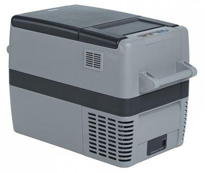 Компрессорный автомобильный холодильник Waeco-Dometic CoolFreeze CF-4031-40 литров<br>Электрический компрессорный автомобильный холодильник Waeco CoolFreeze CF-40 предназначен для эксплуатации на отдыхе, в походах или путешествиях. Данная модель подходит для использования в автомобилях любой марки: компактный холодильник максимально быстро охлаждает напитки и на протяжении долгого времени сохраняет свежесть продуктов питания.<br><br>Страна: Германия<br>Объем, л: 37<br>Мощность, Вт: 45<br>Питание, В: 12/24/110/220<br>Max температура, C:: +10<br>Min темп., C: 18<br>Кабель питания: Есть<br>Назначение: Легковой автомобиль<br>Габариты ВxШxД, мм: 445x360x580<br>Вес, кг: 16<br>Гарантия: 3 года