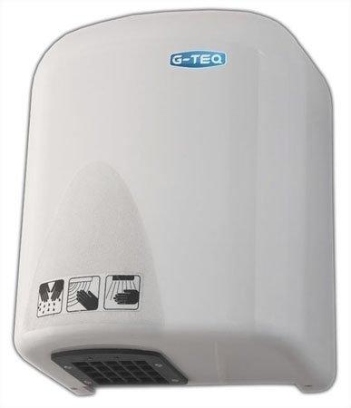 Сушилка для рук G-teq 8826 PWАнтивандальные<br>Довольно мощная сушилка для рук&amp;nbsp;G-teq 8826 PW, которая вырабатывает 1,65 кВт полезной тепловой мощности. Изготовлена она из высококачественного пластика, что делает ее очень крепкой. Надежность также на высшем уровне, так что Вы можете не беспокоится за работоспособность прибора.<br>Сушилка для рук уже давно стала незаменимой в нашей жизни. Главное ее применение это общественные заведения. Такие как, вокзалы, рестораны и т.д. Ее предназначение это сушка рук бесконтактным методом. Полотенце в наше время, тем более в общественных заведениях, выглядит не совсем красиво и подходяще. К тому же каждый будет вытирать об полотенце руки, тем самым оставляя микробы, а это благоприятная среда для какого-либо инфекционного заболевания.<br>У сушилки 8826 PW&amp;nbsp;очень низкое потребление электроэнергии. Экономия сейчас, при постоянном возрастании тарифов на электроэнергию, выходит на одно из первых мест. Так что с сушилкой G-teq 8826 PW&amp;nbsp;Вы даже не заметите, что что-то на нее тратите.<br>Она также имеет антивандальный корпус, так как на ней нет вообще ничего, ни ручек, ни кнопок и т.д. Форма корпуса сделана таким образом, что на нее нельзя ничего поставить. Для сушки рук достаточно всего лишь поднести руки к сушилки и она автоматически включится, а когда Вы уберете руки, то выключится.<br><br><br>Страна: Китай<br>Мощность, кВт: 1,65<br>Материал корпуса: Пластик<br>Поток воздуха м/с: 13<br>Степень защиты: IP23<br>Цвет корпуса: Белый<br>Минимальный уровень шума, дБа: 78<br>Объем воздушного потока, м3/час: None<br>Средняя скорость высушивания, сек: 2025<br>Температура воздушного потока, С: 65<br>Размеры, мм: 225х155х285<br>Вес, кг: 2<br>Гарантия: 1 год