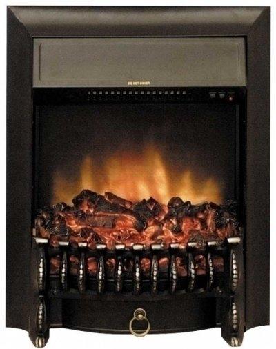 Камин Royal Flame Fobos FX BlackОчаги классические<br>Fobos FX Black &amp;ndash; электрический очаг с живым пламенем от компании Royal Flame для установки в стандартное обрамление (портал). Встраиваемый электроочаг Fobos &amp;ndash; это современный вариант классического дровяного камина. Рассматриваемая модель имеет две ступени нагрева, а также просто демонстрировать искусственный огонь без обогрева.<br><br>Страна: Китай<br>Мощность, кВт: 2,0<br>Пламя Optiflame: None<br>Эффект топлива: Дрова<br>Фильтр очистки воздуха: Есть<br>Обогреватель: Да<br>Цвет рамки: Черный<br>Потрескивание: Есть<br>Пульт: Нет<br>Дисплей: Нет<br>Тип камина: Электрический<br>ГабаритыВШГ,мм: 610x500x230<br>Гарантия: 1 год<br>Вес, кг: 14