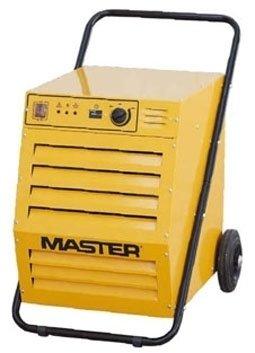 Осушитель воздуха Master DH 9280 литров<br>Master DH 92   промышленный осушитель воздуха. Используется для осушения воздуха в складах, производственных помещениях, на строительных объектах, для высушивания древесины, погребов, сушки продуктов питания, создания микроклимата в теплицах и так далее. Осушитель конденсирует избытки влаги, содержащейся в воздухе обслуживаемого помещения. С помощью вентилятора насыщенный влажными парами воздух поступает в воздухозаборное отверстие осушителя. В момент прохода через испаритель воздух охлаждается до температуры ниже точки росы, благодаря чему содержащиеся в нем пары влаги конденсируются и выводятся. Затем воздух поступает в конденсатор для подогрева до температуры на 5  выше температуры забираемого воздуха, после чего поступает в помещение.  Оборудован роторным компрессором, встроенным гигрометром, счетчиком учета количества часов работы. Предусмотрена автоматическая оттайка на случай работы при низких температурах. Отличается энергоэкономичностью, высоким КПД и удобством в транспортировке и управлении.<br><br>Страна: Италия<br>Производитель: Китай<br>Осушение л\сутки: 80<br>Производительность, мsup3;/ч: 1000<br>Функция обогрева: Нет<br>Отвод конденсата: Сбор в бак<br>Емкость бака, л: 11,0<br>Хладагент: R410A<br>Корпус: металл<br>Уровень шума, Дба: 50<br>Мощность, Вт: 1650<br>Напряжение, В: Нет<br>Установка: Напольная<br>Размер ВхШхГ,см: 105x61x59<br>Вес, кг: 66<br>Гарантия: 1 год