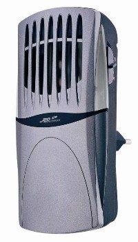 Ионизатор воздуха Aircomfort GH-2160SИонизаторы для дома<br>Модель очистителя воздуха Air Comfort  GH-2160S  с функцией ионизации, которая делает воздух не только чистым, но и свежим, насыщая его полезными отрицательно заряженными ионами. Для обеспечения максимальной эффективности и производительности разработано два режима функционирования: генерация отрицательных ионов и генерация активного кислорода. Для поддержания чистоты прибора предусмотрен выдвигающийся стержень, который существенно упрощает процесс очистки внутренних поверхностей.  Очень важная особенность функционирования оборудования обусловлена бесшумной работой, ведь сам процесс циркуляции очищенного воздуха с генерированными отрицательно заряженными ионами осуществляется электронным способом без использования движущихся деталей и элементов конструкции.<br><br>Электростатическая решетка задерживает самые мельчайшие загрязняющие частицы, содержащиеся в воздухе<br>Два режима IR Отрицательные ионы OD Активный кислород <br>Улавливающие стержни выдвигаются, упрощая их очистку <br>Циркуляция чистого воздуха с запахом свежести обеспечивается электронным способом без движущихся деталей и шума<br>Чистый воздух несет с собой устойчивый поток очищающего озона, нейтрализующего запахи в самом начале их возникновения<br>Светодиод можно использовать в качестве ночного освещения<br>Встроенный беспроводной штепсель позволяет установить очиститель непосредственно в розетку<br><br>Представленная модель является современным, компактным освежителем воздуха, который сочетает в себе массу достоинств. Ведь небольшой мобильный приборчик может качественно очищать воздух, насыщать обслуживающее помещение отрицательно заряженными ионами, которые положительно влияют на здоровье человека и организм в целом. Прочный корпус имеет специальную электростатическую решетку, которая задерживает одних из мелких частиц пыли, грязи летающих в воздухе. <br><br>Страна: Италия<br>Производитель: Китай<br>Площадь, м?: None<br>УФ лампа: Нет<br>Мощно