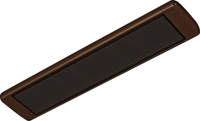 Инфракрасный обогреватель Алмак ИК 8 W0.8 кВт<br>Инфракрасный обогреватель Алмак ИК 8 W отличается необычным дизайном   его корпус имеет округлые формы и глубокий темный цвет, благодаря чему этот прибор способен стать стильным украшением интерьера, выполненного в контрастных тонах. Данный обогреватель невероятно просто устанавливается и комплектуется всеми необходимыми крепежами.<br>Отличительные особенности ИК-обогревателей Алмак:<br><br>Низкое энергопотребление<br>Долгий срок службы<br>Высокая производительность<br>Удобны для обогрева локальных зон<br>Установка на потолке сохраняет свободной рабочую зону  <br>Крепежные кронштейны в комплекте<br>Возможность подключения к терморегулятору<br>Гарантия 5 лет<br>Санитарно-эпидемиологическое заключение<br>Сертификат соответствия<br>Соответствие требованиям пожарной безопасности<br><br>Инфракрасные обогреватели российской компании Алмак серии ИК предназначены для потолочного монтажа, однако при наличии специальных кронштейнов могут устанавливаться и на стене под любым удобным для пользователя углом. В комплекте к обогревателям прилагается набор прочных крепежей, которые позволяют без труда и очень быстро прикрепить прибор к потолку.    <br><br>Страна: Россия<br>Производитель: Россия<br>Мощность, кВт: 0,8<br>Площадь, м?: 8<br>Класс защиты: Нет<br>Регулировка мощности: Нет<br>Встроенный термостат: Нет<br>Тип установки: Потолочная<br>Отключение при перегреве: Нет<br>Пульт: Нет<br>Габариты ШВГ, см: 98х3х16<br>Вес, кг: 2<br>Гарантия: 5 лет<br>Ширина мм: 980<br>Высота мм: 30<br>Глубина мм: 160