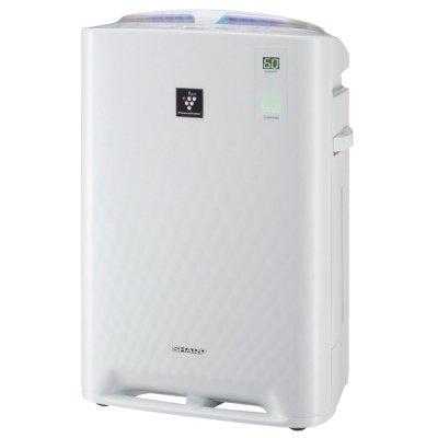Очиститель воздуха Sharp KC-A41R WОчистка + Увлажнение<br>Современная технология ионизации и очистки воздуха Plasmacluster работает с помощью взаимодействия отрицательно и положительно заряженных ионов, которые активно разлагают переносимые по воздуху бактерии, вирусы, аллергены и другие вредные химические соединения. Разработано специальное распределение воздуха, которое распределяет воздух по всему обслуживающему помещению. <br>Преимущественные особенности и возможности рассматриваемой модели очистителя-увлажнителя воздуха Sharp:<br><br>Компактные габаритные размеры<br>Климатический комплекс обеспечивает очистку, увлажнение, ионизацию воздуха<br>Уникальная технология ионизации и очистки воздуха Plasmacluster<br>Разработано энергосберегающее инверторное управление<br>Режимы функционирования: очистка воздуха, очистка и увлажнение,  Ионный дождь , Цветочная пыльца. Функция Защита от детей<br>Цифровая индикация уровня влажности с точностью до 1 %<br>Небольшой вес<br>Мобильность<br>Эстетичный внешний вид<br><br>Производитель Sharp является лидером на рынке климатической техники, ведь для изготовления оборудования используются высококачественные исходные материалы, разрабатываются новейшие технологии, которые способны создавать благоприятную атмосферу в обслуживающем помещении. Весь модельный ряд Sharp KC-A41R W соответствует нормам безопасности, работа прибора не способна отрицательно повлиять на внутренние органы человека, издаваемый шумовой порог приемлем для нашего восприятия. Компактные габаритные размеры и небольшой вес позволит пользователю без затруднения перемещать модель в разные места, а при необходимости и вовсе спрятать в шкаф. Высокотехнологичный продукт предельно прост в эксплуатации и управлении, способен не только профессионально выполнить свои прямые функции, но и позаботиться об окружающей среде. Идеальный продукт, который создает максимально комфортную экосистему для человека и гармонию с природой. Рассматриваемая модель Sharp KC-A41R W сочетает в се