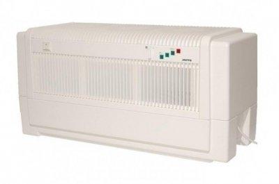 Мойка воздуха Venta LW80 (белая)Промышленные мойки<br>Удобная и компактная промышленная мойка воздуха VENTA LW80&amp;nbsp; быстро устраняет частицы пыли и неприятный запах, максимально безопасна в эксплуатации. &amp;nbsp;Установка устройства предусмотрена на полу, что позволяет перерабатывать максимальное количество загрязненного воздуха. Необходимо соблюдать безопасное расстояние от окружающих предметов, потому что очищенный и увлажненный воздушный поток выходит через боковые отверстия.&amp;nbsp;<br>Преимущества и технические особенности промышленной мойки воздуха:<br><br>Нет сменных фильтров<br>Упрощенный уход за оборудованием<br>Удаление частиц пыли с воздуха&amp;nbsp; размерами до 10 мкр<br>Удаляет неприятные запахи, в том числе и домашних животных<br>Устраняет вредные примеси<br>Корпус изготавливается из высококачественного материала<br>Возможность использования функции ароматизации<br>На усмотрение пользователя можно осуществить добавку гигиенических веществ в водный резервуар<br>Удобная панель управления<br>Высокая степень производительности<br>Легко транспортируемое устройство<br>Пластинчатый барабан специальной конструкции<br>Уровень воды оповещается сигнальными лампочками<br>Два режима работы вентилятора<br>Немецкое качество все составляющих элементов<br><br>Метод функционирования основывается на всасывание воздуха через воздухозаборные отверстия, которые располагаются на верхней части корпуса. Поступающий поток воздуха проходит через вращающийся барабан. Вся пыль и грязь оседает на лопастях барабана, который эффективно задерживает частицы до 10 мкр. Уже очищенный воздух выпускается наружу через боковое отверстие корпуса. Сам процесс увлажнения происходит с помощью холодного испарения. Увлажненный воздушный поток равномерно&amp;nbsp; насыщает влагой весь микроклимат помещения. В верхней части корпуса расположены удобные кнопки регулирования режима мощности вентилятора, а для контроля над уровнем воды в резервуаре имеется специальный индикатор, который отра