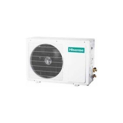 Мульти сплит система Hisense AMW2-20U4SNC12 комнаты<br>&amp;nbsp;<br>Hisense AMW2-20U4SNC1 является наружным блоком для сплит-системы. Этот кондиционер входит в серию FREE MATCH DC INVERTER и, как можно понять из названия серии, имеет компрессор инверторного типа, благодаря которому поддержание комфортной температуры воздуха обеспечивается с высокой точностью и ощутимой экономией электрической энергии. Функция плавного пуска компрессора предупреждает возникновение перегрузок на систему питания во время запуска агрегата.<br>Особенности модели:<br><br>Энергоэффективность класса А+/А<br>Энергосбережение и высокоточное поддержание температуры благодаря технологии 3-DC Inverter<br>Надежный двойной ротационный DC Inverter компрессор<br>Плавный пуск компрессора<br>Электронный расширительный вентиль<br>Увеличенный теплообмен благодаря внутренней насечке в трубках теплообменника<br>Режим отопления до -15 С<br>Максимальная общая длина трассы до 60м, до каждого блока до 25м<br>Защитная накладка на вентили внешнего блока<br><br><br>Данный наружный блок для настенной сплит-системы оборудован высокоэффективным двойным ротационным компрессором инверторного типа, благодаря которому поддержание заданного температурного уровня воздуха в комнате обеспечивается с высочайшей точностью и с гораздо меньшими затратами электрической энергии. Благодаря оснащению компрессора двойным ротором трение и вибрация во время его вращения значительно снизились, что сделало его работу более плавной. Также, это позволило предотвратить утечку хладагента во время сжатия. В итоге это обусловило более тихую и эффективную работу всего агрегата.<br>На медных трубках теплообменника с внутренней стороны нанесены насечки, которые значительно (до 50%) ускоряют скорость прохождения хладагента и тем самым повышают эффективность температурного обмена.<br>Функция плавного пуска компрессора предупреждает возникновения перегрузок систему электропитания при запуске агрегата.<br>Высокая степень надежности составных часте