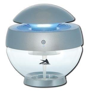 Увлажнитель воздуха Атмос АКВА-1210Традиционные<br>Эффективная и компактная модель АТМОС АКВА-1210.Очиститель-увлажнитель эффективно проводит очистку воздуха от мелкодисперсной пыли и одновременно увлажняет и биологически стерилизует среду помещения. В комплекте с устройством прилагается флакон со специальной ароматической добавкой, которая позволяет насытить воздух приятным ароматом. Нейтрализация статического электричества, отключаемая ночная подсветка, простота и удобство управления, а также экономичное энергопотребление являются дополнительными преимуществами.<br>&amp;nbsp;<br>Особенности функционирования и технологические преимущества:<br><br>Главным фильтром в приборе является вода<br>Светодиодная подсветка<br>Оборудование состоит из двух основных деталей: корпуса и водяного резервуара<br>Превосходная эффективность очищения воздуха от мелкодисперсной пыли с одновременным увлажнением<br>Разработана специальная кнопка управления со светодиодом<br>Качественная и быстрая нейтрализация статического электричества<br>Новое поколение гидроионизации и биологической стерилизации<br>В комплекте прилагается флакон с ароматической добавкой<br>Отключаемая ночная подсветка<br>Качественная и быстрая нейтрализация статического электричества<br>Незаметное, но удобное гнездо для подключения питания 12 В<br>Вмонтирован дисковый вентилятор с ротационным конусом<br>Применяется бесшумный электродвигатель&amp;nbsp;<br><br>Несмотря на свои компактные размеры, представленная модель достаточно хорошо оснащена с функциональной, так и с технической стороны. Естественный принцип работы гарантирует высокую производительность, эффективность и экологическую чистоту всех происходящих процессов. Фильтром является обычная водопроводная вода, которая является также одним из дешевых материалом. Корпус изготовлен из специального пластика, который имеет хорошие антикоррозийные свойства и износостойкость.&amp;nbsp;<br><br>Страна: Германия<br>Производитель: Германия<br>Площадь, м?: 30<br>Площадь по оч