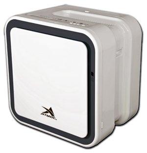 Очиститель воздуха Атмос МАКСИ-300Очистка + Увлажнение<br>Оригинальный дизайн увлажнителя воздуха АТМОС 300.Данная модель осуществляет увлажнение воздуха и его очистку. Прибор использует несколько уровней фильтрации: первичный сетчатый, антибактериальный хитозановый (осуществляет обеззараживающую очистку), электростатический (удерживает микробы, пыль, дым, споры растений и пр.), угольный и SKY BIO HEPA фильтры. Далее следуют этапы генерации отрицательных ионов и увлажнение воздуха при помощи испарительного фильтра с антибактериальной пропиткой.<br>&amp;nbsp;<br>Особенности функционирования и технологические преимущества:<br><br>Встроенная интеллектуальная система &amp;laquo;КОНТРОЛ ФРЭШ&amp;raquo; имеет два датчика контроля загрязненности &amp;nbsp;<br>Электронная система управления и контроля<br>Интеллектуальные режимы &amp;nbsp;AUTO и SLEEP<br>Первичный сетчатый фильтр<br>Антибактериальный хитозановый фильтр<br>ESP (электростатический) фильтр&amp;nbsp;<br>SKY BIO HEPA фильтр<br>Угольный фильтр<br>Ионизация воздуха<br>Инверторный вентилятор работает очень тихо<br>5 различных режимов скорости воздухообмена<br>Удобный и интуитивно понятный пульт ДУ<br>Управление сопровождается легким звуковым оповещением<br>Испарительный фильтр имеет специальную антибактериальную пропитку<br><br>Несмотря на свои компактные размеры, представленная модель достаточно хорошо оснащена с функциональной, так и с технической стороны. Естественный принцип работы гарантирует высокую производительность, эффективность и экологическую чистоту всех происходящих процессов. Фильтром является обычная водопроводная вода, которая является также одним из дешевых материалом. Корпус изготовлен из специального пластика, который имеет хорошие антикоррозийные свойства и износостойкость.&amp;nbsp;<br><br>Страна: Германия<br>Производитель: Тайвань<br>S очистки, м?: 50<br>S увлажнения, м?: 50<br>Воздухообмен, мsup3;/ч: 180<br>Колво режимов работы: 5<br>Сенсоры качества воздуха: Да<br>Газоанализатор: Нет<br>Датч
