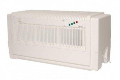 Мойка воздуха Venta LW81 (белая)Промышленные мойки<br>Удобная и компактная&amp;nbsp;промышленная мойка воздуха VENTA LW81&amp;nbsp; быстро устраняет частицы пыли и неприятный запах, максимально безопасна в эксплуатации. &amp;nbsp;Устройство укомплектовано надежными составляющими элементами, которые гарантируют высокий уровень производительности, а немецкое качество высокий уровень безопасности. Прибор не требует специального сервисного обслуживания, а очистку деталей можно осуществить в домашних условиях. Полностью исключена потребность в дорогостоящих фильтрах.&amp;nbsp;<br>Преимущества и технические особенности промышленной мойки воздуха:<br><br>Нет сменных фильтров<br>Упрощенный уход за оборудованием<br>Удаление частиц пыли с воздуха&amp;nbsp; размерами до 10 мкр<br>Удаляет неприятные запахи, в том числе и домашних животных<br>Устраняет вредные примеси<br>Корпус изготавливается из высококачественного материала<br>Возможность использования функции ароматизации<br>На усмотрение пользователя можно осуществить добавку гигиенических веществ в водный резервуар<br>Удобная панель управления<br>Высокая степень производительности<br>Легко транспортируемое устройство<br>Пластинчатый барабан специальной конструкции<br>Уровень воды оповещается сигнальными лампочками<br>Два режима работы вентилятора<br>Немецкое качество все составляющих элементов<br><br>Метод функционирования основывается на всасывание воздуха через воздухозаборные отверстия, которые располагаются на верхней части корпуса. Поступающий поток воздуха проходит через вращающийся барабан. Вся пыль и грязь оседает на лопастях барабана, который эффективно задерживает частицы до 10 мкр. Уже очищенный воздух выпускается наружу через боковое отверстие корпуса. Сам процесс увлажнения происходит с помощью холодного испарения. Увлажненный воздушный поток равномерно&amp;nbsp; насыщает влагой весь микроклимат помещения. В верхней части корпуса расположены удобные кнопки регулирования режима мощности вентилятора, а для контро
