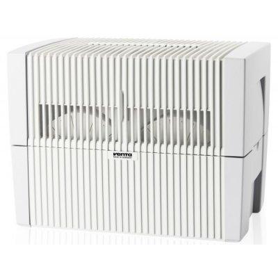 Мойка воздуха Venta LW45 (белая)Бытовые мойки<br>Удобная и компактная&amp;nbsp;бытовая мойка воздуха VENTA LW45&amp;nbsp; функционирует по принципу холодного испарения, а новая конструкция пластинчатых барабанов фиксирует на своих лопастях грязь и мусор. Процесс очистки гениалено простой. Фильтрующим элементом служит обычная вода.Отсутствие расходных материалов делает устройство дешевым в обслуживании.&amp;nbsp;Небольшое потребление электроэнергии делает оборудование экономичным, а правильно сконструированная увлажнительная система облегчает очистку прибора.<br>Преимущества и технические особенности бытовой мойки воздуха:<br><br>Нет сменных фильтров<br>Упрощенный уход за оборудованием<br>Удаление частиц пыли с воздуха&amp;nbsp; размерами до 10 мкр<br>Удаляет неприятные запахи, в том числе и домашних животных<br>Устраняет вредные примеси<br>Корпус изготавливается из высококачественного материала<br>Возможность использования функции ароматизации<br>На усмотрение пользователя можно осуществить добавку гигиенических веществ в водный резервуар<br>Удобная панель управления<br>Высокая степень производительности<br>Легко транспортируемое устройство<br>Пластинчатый барабан специальной конструкции<br>Уровень воды оповещается сигнальными лампочками<br>Два режима работы вентилятора<br>Немецкое качество все составляющих элементов<br><br>&amp;nbsp; &amp;nbsp; &amp;nbsp;Venta-Luftw&amp;auml;scher GmbH &amp;ndash; один из лидеров по изготовлению приборов для увлажнения и очистки воздуха мирового масштаба. Вся продукция, выпускаемая под данным брендом, имеет современный дизайн, удобное управление, небольшие габаритные размеры, проста в эксплуатации и дальнейшем обслуживании. Чтобы подтвердить высокое качество своей продукции производитель предоставляет гарантию на все бытовые мойки воздуха до 10 лет.<br>&amp;nbsp;Видео о принципе работы моек воздуха&amp;nbsp;Venta:&amp;nbsp;<br><br>Страна: Германия<br>Производитель: Германия<br>S увлажнения, м?: 75<br>S очистки, м?: 40<br>Воздухообм