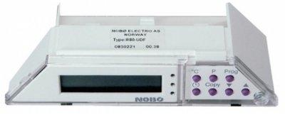 Термостат Nobo R80 UDFАксессуары<br> <br>Nobo R80 UDF   это электронный программируемый термостат с жидкокристаллическим дисплеем. Устройство совместимо с моделями конвекторов C2N, C4N, K2N, K4N, B4N, P4N и P6N.<br>Термостат оснащен встроенной системой защиты, которая автоматически отключает прибор при перегреве или попадании посторонних предметов.<br>Электронное устройство имеет 12 фиксированных программ, также производителем предусмотрена 1 программа, создаваемая пользователем самостоятельно.<br>Функция антизамерзание особенно удобна в зимнее время для загородных домов, чтобы предотвратить промерзание помещения и отключенной системы водяного отопления.<br>При перепадах напряжения или перебоях в подаче электроэнергии термостат автоматически сохраняет пользовательские настройки.<br>Устройство для контроля температуры имеет три индикатора (включение, нагрев и экономия электроэнергии), а также оснащено часами и календарем.<br><br><br>Страна: Норвегия<br>Размеры, мм: None<br>Вес, кг: 1<br>Гарантия: 1 год
