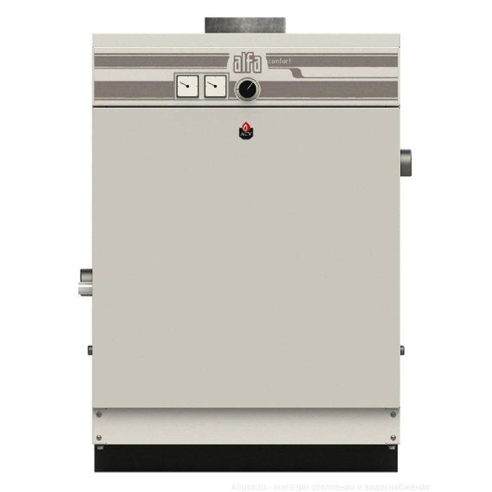 Котел ACV Alfa Comfort 40 v15 (32 кВт)30 кВт<br>ACV (АСВ) Alfa Comfort 40 v15 (32 кВт) представляет собой напольный котел с чугунным высокоэффективным теплообменником, поверхность которого увеличена. Одно из главных преимуществ агрегата   отсутствие необходимости в электрической энергии, что значительно расширяет сферы его применения. Данный котел может применяться как в бытовых целях, так и в коммерческих или промышленных.<br>Главные преимущества и особенности рассматриваемой модели котла отопления от компании ACV:<br><br>Электронезависим   не требует подключения к сети электроэнергии<br>Высокий КПД: до 91,5 %<br>Работа на природном газе низкого давления<br>Инжекционная атмосферная горелка<br>Низкий уровень шума<br>Пьезорозжиг пилотной горелки<br>Режим  мягкого старта <br>Термоэлектрический датчик пламени<br>Регулятор установки режима работы газового клапана<br>Удобная панель управления<br>Манометр, термометр, регулировочный термостат в базовой комплектации<br>Встроенные устройства безопасности<br>Универсальное использование: любые системы отопления<br>Полная комплектация для работы котла<br>Компактные размеры<br>Надежная конструкция, проверенная временем<br>Срок службы: не менее 10 лет<br>100% гарантия качества<br><br>Компания ACV   это известный бельгийский производитель, ассортимент оборудования которого порадует даже самых притязательных покупателей. Например, котлы серии Alfa Comfort   удобные, долговечные, функциональные, в чугунном корпусе и с чугунным теплообменником, площадь теплоотдачи которого увеличена. Это современное оборудование, которое по праву можно назвать одним из лучших представителей своего сегмента. <br><br>Страна: Бельгия<br>Производство: Россия<br>Тип котла: Энергонезависимые<br>Режим работы: Отопление<br>Камера сгорания: Открытая<br>Горелка: Атмосферная<br>Тип розжига: Пьезорозжиг<br>Материал теплобмненника: Чугун<br>Количество секций: None<br>Max мощность, кВт: 32,0<br>Min полезная мощность, кВт: None<br>Max давление отопит контура , Атм: