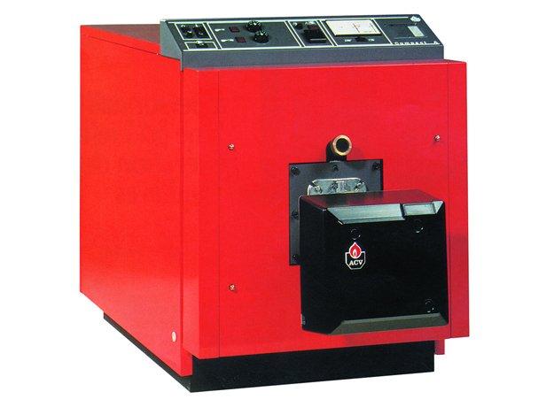Котел ACV CA 200 + CRATE&gt; 200 кВт<br>ACV (АЦВ) CA 200 + CRATE   это современное и надежное устройство, представляющее собой котел из стали для отопления бытовых или промышленных помещений. В комплекте поставляется панель управления, с помощью которой можно контролировать работу прибора, и теплоизоляция, снижающая тепловые потери до минимальных значений. Котел оснащен термостатом.<br>Главные преимущества и особенности рассматриваемой модели комбинированного котла отопления серии Compact A:<br><br>Предназначен для подключения к системам водяного отопления<br>Двухходовая камера сгорания с реверсионной топкой<br>Дымогарные трубы расположены горизонтально и оснащаются турбулизаторами<br>Дверь камеры сгорания может открываться влево и вправо<br>Теплоизоляция корпуса выполнена из минеральной ваты и алюминиевой фольги<br>Второй слой теплоизоляции из минеральной ваты установлен на стальных панелях декоративного кожуха красного цвета<br>Декоративный кожух поставляется в отдельной упаковке и предназначен для сборки на месте<br>Котел оборудован термостатами первой и второй ступени 60-90 С, сетевым выключателем, выключателем циркуляционного насоса системы отопления<br>Котел может оснащаться контроллером погодозависимого управления<br>Встроенный термостат на 45 С задерживает пуск циркуляционного насоса для защиты котла от низкотемпературной коррозии<br>Термостат защиты от перегрева срабатывает при 103 С<br>Возможна установка счетчиков часов каждой ступени.<br><br>Предлагаем вниманию профессионалов серию промышленных отопительных агрегатов Compact A от бельгийской торговой марки ACV. Семейство представлено широким ассортиментом моделей, осуществляющих свою работу на природном магистральном газе или же дизельном топливе. Все агрегаты характеризуются стабильной работой и высокой эффективностью. Котлы поставляются в разобранном виде, декоративный кожух красного цвета поставляется в отдельной коробке.<br><br>Страна: Бельгия<br>Производство: Бельгия<br>Тип котла: Энергозависимые<br>