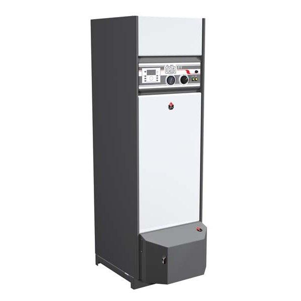 Котел ACV DELTA PRO S 2530 кВт<br>Высокопроизводительный напольный котел ACV (АСВ) DELTA PRO S 25, оборудованный баком из особопрочной стали с покрытием, препятствующим образованию ржавчины, может эксплуатироваться в практически любых условиях, при этом сохраняя показатели эффективности на стабильно высоком уровне. Такое оборудование является незаменимым помощников на даче или в загородном коттедже, где может стать основным элементом системы горячего водоснабжения.<br>Особенности и преимущества комбинированных напольных котлов ACV серии  DELTA PRO :<br><br>Напольный котел для отопления и горячего водоснабжения<br>Встроенный бойлер ( Бак в баке ) из нержавеющей стали<br>Газовая или дизельная горелка (опция)<br>Предохранительные клапаны (на отопление и ГВС) в комплекте<br>Коаксиальное дымоотведение (опция, только для Delta Pro S 25-45 / Pro Pack 25-45)<br>Возможность установки климатического контроллера в панель котла (опция)<br>Версия Delta Pro Pack поставляется с насосной группой, 4х-ходовым смесительным клапаном и расширительными баками для контура ГВС (2 л) и для контура отопления (12 л)<br>Простота и удобство обслуживания<br>Максимальная температура: +90  C<br>Подключение электропитания: 230В / 50Гц<br>Макс. рабочее давление отопительного контура: 3 бар<br>Макс. испытательное давление отопительного контура: 4,5 бар<br>Оборудование поставляется без горелки! Газовая или дизельная горелка приобретается отдельно!<br><br>Комбинированные двухконтурные напольные котлы ACV серии  DELTA PRO  отлично подходят для эксплуатации в бытовых или промышленных условиях и являются незаменимыми агрегатами при организации систем отопления или горячего водоснабжения на дачах, в индивидуальных домах и коттеджах. Все модели серии имеют защиту от перегрева и повышенного давления, а также исполнены в особопрочных корпусах из надежных материалов.<br><br>Страна: Бельгия<br>Производство: Бельгия<br>Тип котла: Энергозависимые<br>Режим работы: Отопление/ГВС<br>Тип установки: Напольная<br>Камер