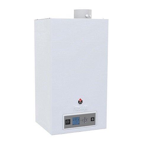 Котел ACV PRESTIGE 75 SOLO64 кВт<br>Настенный отопительный агрегат ACV (АСВ) PRESTIGE 75 SOLO   это устройство нового поколения, разработанное для отопления больших по площади помещений. Для создания системы горячего водоснабжения доступно подключение внешней накопительной емкости косвенного нагрева. Прибор оснащена системой электронного управления с автоматикой, которая самостоятельно регулирует температуру в зависимости от погоды за окном.<br>Главные преимущества и особенности рассматриваемой модели бытового настенного котла отопления:<br><br>Бытовой настенный газовый котел Prestige третьего поколения;<br>Solo   только отопление с возможностью подключения внешнего бойлера;<br>Excellence   отопление и приготовление горячей воды во встроенном бойлере;<br>Высокий КПД, работа в высокотемпературном и низкотемпературном режимах;<br>Интуитивно понятный интерфейс системы управления котлом;<br>Теплообменник котла с функцией самоочистки, изготовленный из нержавеющей стали;<br>Высокоэффективная газовая горелка с модуляцией мощности;<br>Закрытая (герметичная) камера сгорания с отводом дымовых газов через коаксиальный дымоотвод.<br>Данная серия котлов может найти применение как в домашнем, так и в промышленном использовании.<br><br>Prestige   это серия современного отопительного оборудования от известного бельгийского бренда ACV. Все модели исполнены с применением современных технологий, в качестве материала изготовления теплообменника и жаровых труб используется нержавеющая сталь. Устройства относятся к полупромышленному типу оборудования, для использования в больших не бытовых помещениях реализована возможность связки агрегатов в каскад.<br><br>Страна: Бельгия<br>Производство: Бельгия<br>Тип котла: Энергозависимые<br>Режим работы: Отопление<br>Камера сгорания: Закрытая<br>Горелка: Модулируемая<br>Max мощность, кВт: 73,8<br>Min мощность, кВт: None<br>Max давление отопит контура , Атм: 3,0<br>Min давление отопит контура , Атм: None<br>Расширительный бак: Да<br>Циркуляционный н