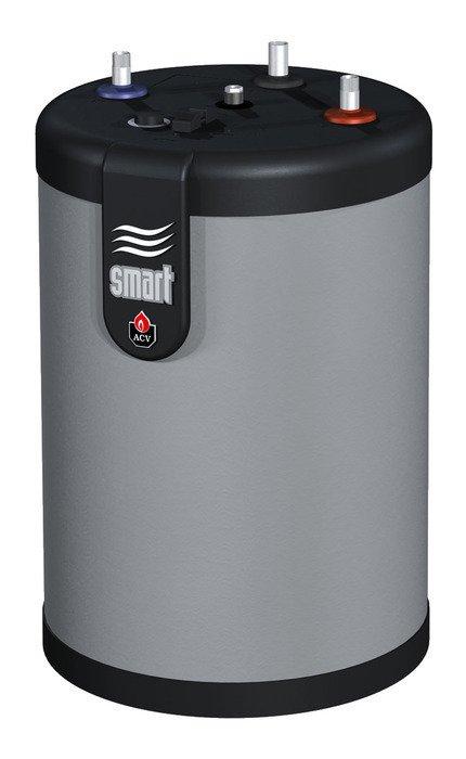 Бойлер косвенного нагрева ACV SMART LINE STD 100L100 литров<br>Водонагреватель ACV (АЦВ) SMART LINE STD 100L с объемом бака 105 литров работает по принципу нагрева от внешнего источника тепла. Приспособлен, как для установки на полу, так и для навешивания на стену. В комплекте имеются крепления на оба варианта установки. Система нагрева  бак в баке  позволяет быстро получать нагретую воду, отвечающую санитарным нормам. Мощность теплообменника 23 кВт. Вес изделия 49 кг.<br>Особенности бойлера косвенного нагрева представленной модели из серии товаров ACV Smart Line STD:<br><br>Водонагреватель  с универсальным вариантом монтажа (напольный/настенный)<br>Высокое качество материалов изготовления<br>Технология  бак в баке <br>Высокая скорость нагрева   от 20 минут<br>Пенополиуретановая теплоизоляция толщиной 50 мм<br>Полипропиленовый декоративный корпус, характеризующийся устойчивостью к царапанью<br>Удобная интуитивно понятная панель управления нагревом<br>Кронштейны для монтажа на стену<br>В комплекте регулятор нагрева воды (регулировочный термостат) с ограничителем диапазона нагрева<br>Дополнительная встроенная защита от перегрева<br>Самоочистка от образования накипи благодаря специальной гофрированной конструкции поверхности внутреннего бака<br><br>Серия бойлеров косвенного нагрева Sl Std от компании ACV представлена широким выбором моделей, различных по объему накопительной емкости. Изделия изготовлены из материала непревзойденной качества, отличаются универсальным вариантом монтажа. Водонагреватели исполнены по технологии бак в баке, где внутренний резервуар имеет гофрированную поверхность. Такое решение позволило избежать необходимости в дополнительной защите от образованию накипи и добиться длительного срока эксплуатации.<br><br>Страна: Бельгия<br>Объем, л: 105<br>Мощность ТЭНа, кВт: None<br>Мощность теплообменника, кВт: None<br>Установка: Напольная<br>Покрытие бака: Нерж. сталь<br>Емкость теплообменника: 1.03<br>Подключение горячей воды, дюйм: 3/4<br>Max темп. наг