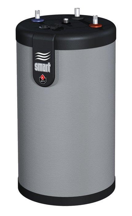 Бойлер косвенного нагрева ACV SMART LINE STD 130L120 литров<br>Модель ACV (АЦВ) SMART LINE STD 130L - водонагреватель, вмещающий 130 литров воды, с подогревом от внешнего теплоносителя, устроенный по принципу  бак в баке . Такая конструкция позволяет нагревать воду быстро и равномерно по всему объему. Набор креплений, прилагаемый в комплекте к бойлеру, позволяет выбрать способ размещения  - на полу или на стене. Весит бойлер 55 кг.<br>Особенности бойлера косвенного нагрева представленной модели из серии товаров ACV Smart Line STD:<br><br>Водонагреватель  с универсальным вариантом монтажа (напольный/настенный)<br>Высокое качество материалов изготовления<br>Технология  бак в баке <br>Высокая скорость нагрева   от 20 минут<br>Пенополиуретановая теплоизоляция толщиной 50 мм<br>Полипропиленовый декоративный корпус, характеризующийся устойчивостью к царапанью<br>Удобная интуитивно понятная панель управления нагревом<br>Кронштейны для монтажа на стену<br>В комплекте регулятор нагрева воды (регулировочный термостат) с ограничителем диапазона нагрева<br>Дополнительная встроенная защита от перегрева<br>Самоочистка от образования накипи благодаря специальной гофрированной конструкции поверхности внутреннего бака<br><br>Серия бойлеров косвенного нагрева Sl Std от компании ACV представлена широким выбором моделей, различных по объему накопительной емкости. Изделия изготовлены из материала непревзойденной качества, отличаются универсальным вариантом монтажа. Водонагреватели исполнены по технологии бак в баке, где внутренний резервуар имеет гофрированную поверхность. Такое решение позволило избежать необходимости в дополнительной защите от образованию накипи и добиться длительного срока эксплуатации.<br><br>Страна: Бельгия<br>Объем, л: 130<br>Мощность ТЭНа, кВт: None<br>Установка: Напольная<br>Покрытие бака: Нерж. сталь<br>Емкость теплообменника: 1.26<br>Подключение горячей воды, дюйм: 3/4<br>Max темп. нагрева, С: 90<br>Габариты ВхШхГ,мм: 1025x789x525<br>Вес, кг: 55<br>Гарантия: 2