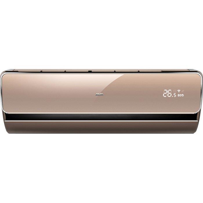 Настенный кондиционер AUX ASW-H09A4/LA-800R1DI/AS-H09A4/LA-R1DI25 м? - 2.6 кВт<br>Лаконичная и визуально привлекательная конструкция внутреннего блока сплит-системы AUX (АУКС) ASW-H09A4/LA-800R1DI/AS-H09A4/LA-R1DI может идеально вписаться в текущий интерьер и даже осуществить пространственное оформление всего помещения. Рассматриваемое климатическое оборудование имеет высокий класс энергоэффективности, что гарантирует значительную экономию ресурсов.<br>Особенности и преимущества настенных сплит-систем AUX серии Exclusive Inverter:<br><br>Управление по Wi-Fi сетям (опционально)<br>Энергоэффективность А-класса<br>Тройная шумоизоляция внешнего блока<br>Низкий уровень шума, всего 24дБ<br>Высококачественная окраска &amp;laquo;Silver shine&amp;raquo;<br>Технология &amp;laquo;Smart DC-inverter&amp;raquo;<br><br>Настенные сплит-системы AUX серии Exclusive Inverter представляют собой инверторные модели с высоким классом энергетической эффективности, которые позволят экономить значительное количество ресурсов даже при осуществлении достойного обогрева или охлаждения помещения с точным поддержанием заданной температуры. Модели имеют надежное исполнение и лаконичный дизайн.&amp;nbsp;&amp;nbsp;<br>&amp;nbsp;<br><br>Уровень шума, дБа: 50<br>Страна бренда: Китай<br>Горизонтальная регулировка потока: Нет<br>Габариты ВхШхГ, см: 51,5x72x25,5<br>Производитель: Китай<br>Компрессор: Инвертор<br>Вес, кг: 26<br>Площадь, м?: 25<br>Уровень шума, дБа: 21<br>Режим работы: холод/тепло<br>Габариты ВхШхГ, см: 30x90x20,5<br>Вес, кг: 11<br>Охлаждение, кВт: 2,7<br>Обогрев, кВт: 2,8<br>Потребление при охлаждении, кВт: 0,82<br>Потребление при обогреве, кВт: 0,776<br>Охлаждающая способность, тыс. BTU: 9<br>Диапазон t на охлаждение, С: +18...+43<br>Диапазон t на обогрев, С: 15...+24<br>Расход воздуха, м3/ч: 450<br>Хладагент: R410A<br>Max длина трассы, м: 15<br>диаметр газовой трубы, дюйм: 3/8<br>диаметр жидкостной трубы, дюйм: 1/4<br>Фильтр тонкой очистки: Нет<br>Плазменный фильтр: Нет<br>Предварительн