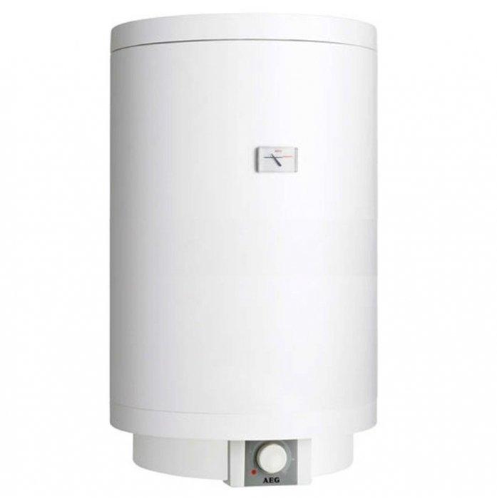 Электрический накопительный водонагреватель 100 литров Aeg EWH 100 Trend100 литров<br>Электрический накопительный водонагреватель 100 литров EWH 100 Trend является отличным выбором для квартиры или частного дома. Представленная модель обладает классом защиты   IP 25 (обеспечение защиты от попадания на нее струй воды). Встроен качественный надежный предохранительный ограничитель для того, что бы легко можно было контролировать температуру и обеспечивать самую безопасную эксплуатацию такого прибора. В отличие от косвенных бойлеров, водонагреватель не предназначен для котлов, а является самостоятельным оборудованием. <br><br>Страна: Германия<br>Производитель: Словакия<br>Способ нагрева: Электрический<br>Нагревательный элемент: Трубчатый<br>Объем, л: 100<br>Темп. нагрева, С: 75<br>Мощность, кВт: 2,0<br>Напряжение сети, В: 220 В<br>Плоский бак: Нет<br>Узкий бак Slim: Нет<br>Магниевый анод: Да<br>Колво ТЭНов: 1<br>Дисплей: Нет<br>Сухой ТЭН: Нет<br>Защита от перегрева: Есть<br>Покрытие бака: Эмаль<br>Тип установки: Вертикальная<br>Подводка: Нижняя<br>Управление: Механическое<br>Размеры ШхВхГ, см: 101,5x51x52<br>Вес, кг: 34<br>Гарантия: 10 лет<br>Ширина мм: 1015<br>Высота мм: 510<br>Глубина мм: 520