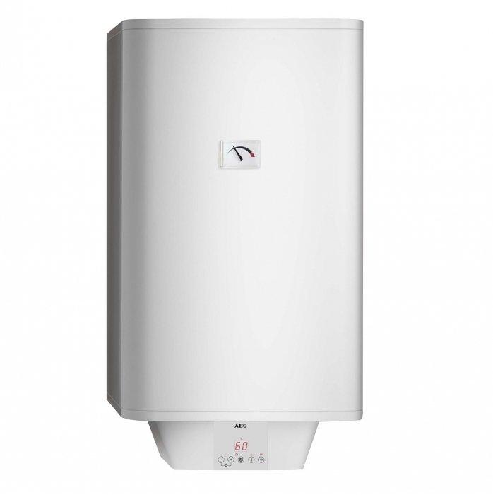 Электрический накопительный водонагреватель Aeg EWH 150 Universal EL150 литров<br> <br>Накопительный водонагреватель AEG  EWH 150 Universal  EL имеет три энергосберегающих режима и сенсорную панель управления со встроенным LED-дисплеем.  Для эффективного нагревания воды используется керамический нагревательный элемент, который имеет увеличенный срок службы. Плотный слой теплоизоляции эффективно сокращает потери тепла, и, следовательно,  расход энергии.<br>Накопительный водонагреватель AEG  EWH 150 Universal  EL обладает рядом особенностей:<br><br>Два высококачественных керамических нагревательных элемента<br>Мощность прибора 2,0+1,0 кВт<br>Встроен надежный магниевый анод<br>Высокий уровень защиты от коррозии<br>Защитный эмалированный кожух<br>Сенсорная панель<br>LED- дисплей<br>Защитная блокировка кнопок (от детей)<br>Три режима минимизации потребления электроэнергии<br>Предусмотрен производственный режим<br>Функция ускоренного приготовления горячей воды<br>Автоматизированная система диагностики<br>Точный индикатор температуры<br>Группа безопасности SYR<br>Защитная функция блокировки панели управления<br>Защита от замерзания<br>Штуцер слива<br>Быстрый и универсальный монтаж<br>Класс защиты    IP 25 и IP 24<br>Гарантия 10 лет на водонагревательный бак и 3 года на электрические компоненты<br><br>Линейка накопительных электрических водонагревателей EWH Universal EL от компании Aeg   это современные высокотехнологичные приборы, удобные и безопасные. Агрегаты оснащены электронной системой регулирования температуры, благодаря чему поддерживают выбранный режим автоматически с удивительной точностью. Водонагреватель от компании AEG   это отличное решение проблемы горячего водоснабжения. Приборы данной торговой марки выполнены в современном дизайне и всегда отвечают требованиям современных водонагревательных приборов. При этом все модели выполнены из качественных материалов и имеют эстетичный внешний вид.<br> <br><br>Страна: Германия<br>Производитель: Словакия<br>Способ нагр
