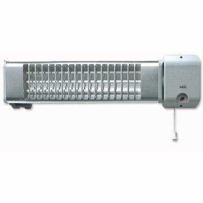 Карбоновый обогреватель Aeg IWQ 180Карбоновые обогреватели<br>Карбоновый &amp;nbsp;обогреватель Aeg (Аег) IWQ 180 Carb с легкость обслужит помещение, площадью до восемнадцати квадратных метров. Способ установки и форма корпуса прибора обеспечивают возможность использование и для общего обогрева, и для локального в какой-либо определенной зоне. Также стоит выделит быстрое достижение рабочих параметров, бесшумную работу и отсутствие влияние на качество воздуха в помещении.<br>Особенности и преимущества карбонового обогревателя Aeg IWQ:<br><br>уникальный нагревательный элемент &amp;ndash; кварцевая трубка с повышенным ресурсом работы;<br>механическое переключение ступеней мощности;<br>невероятно короткое время разогрева &amp;ndash; 30 секунд;<br>простой и быстрый монтаж;<br>возможно изменение направления угла излучения;<br>класс защиты &amp;ndash;&amp;nbsp;IP23 (защита от капель воды);<br>элегантный внешний облик;<br>первоклассное аккуратное исполнение;<br>не комплектуется вилкой и шнуром питания;<br>надежность и долговечность, комфорт и безопасность.<br><br>Карбоновые обогреватели под маркой Aeg &amp;ndash; это традиционное превосходное немецкое качество. Облаченное в современную эргономичную оболочку. Стоит отметить, что пылевлагозащищенность этой оболочки соответствует индексу IP23. А значит, вы сможете использовать агрегаты в помещениях с повышенной влажностью, совершенно не опасаясь попадания внутрь прибора капель воды. Карбоновые обогреватели Аег, представленные в нашем интернет-магазине, сопровождаются официальной гарантией производителя. Комплект поставки обязательно включает в себя инструкцию на русском языке. На страницах онлайн-каталога mircli.ru представлен широки&amp;nbsp;&amp;nbsp;&amp;nbsp;&amp;nbsp;&amp;nbsp; ассортимент немецкой техники Aeg &amp;ndash; первоклассной, надежной, долговечной.<br><br>Страна: Германия<br>Мощность, Вт: 1,8<br>Площадь, м?: 18<br>Регулировка мощности: Да<br>Отключение при опрокидывании: Нет<br>Поворот корпуса: Нет<br>Нагревате