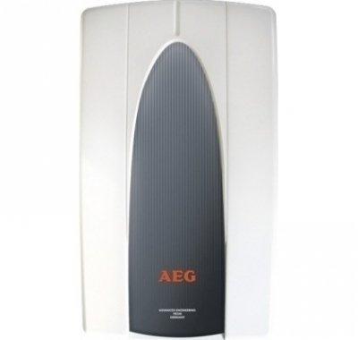 Лучший проточный водонагреватель 6 кВт Aeg MP66 кВт<br>Aeg MP6   лучший проточный водонагреватель для дома. Прибор полностью автоматизирован, имеет защиту от перегрева и электронный датчик протока. Представленная напорная модель отличается элегантным дизайном, который будет прекрасно смотреться в любом окружении. Электрическое подключение осуществляется в стандартную розетку. <br><br>Страна: Германия<br>Производитель: Германия<br>Темп. нагрева, С: 60<br>Способ нагрева: электрический<br>Производительность: 3,4 л/мин.<br>Мощность, кВт: 6<br>Защита от перегрева: есть<br>LCD дисплей: нет<br>Управление: электронная<br>Тип установки: Вертикальная<br>Подводка: Нижняя<br>Комплектация: Нет<br>Тип подачи: Напорный<br>Напряжение сети, В: 220 В<br>Габариты ШхВхГ, см: 21,2x36x9,3<br>Вес, кг: 2<br>Гарантия: 3 года<br>Ширина мм: 212<br>Высота мм: 360<br>Глубина мм: 93