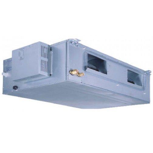 Канальный кондиционер Aeronik AFH18K3HI/AUHN18NK3HO5.5 кВт - 18 BTU<br>Модель Aeronik (Аероник) AFH18K3HI/AUHN18NK3HO представляет собой современный канальный кондиционер, внутренний блок которого рассчитан на монтаж за подвесным потолком. Скрытая установка, особая конструкция и высокая мощность данного устройства позволяют использовать его для кондиционирования и эффективной вентиляции различных больших помещений и целых зданий.<br>Особенности и преимущества канальных кондиционеров Aeronik представленной серии:<br><br>Предназначен для монтажа за подшивным потолком.&amp;nbsp;<br>Легкий и компактный.<br>В комплект входит проводной пульт.<br>Беспроводной пульт в качестве опции.<br>Низкий уровень шума.<br><br>Полупромышленные неинверторные кондиционеры Aeronik &amp;ndash; это производительные климатические устройства, рассчитанные на использование в помещениях с большой площадью, а также на различных объектах коммерческого, жилого или производственного назначения. В рассматриваемой линейке представлены разнообразные внутренние блоки, например, кассетного или напольно-потолочного вида, а также блоки для наружного монтажа.<br><br>Страна: Австрия<br>Охлаждение, кВт: 5.0<br>Обогрев, кВт: 5.7<br>Площадь, м?: 50<br>Компрессор: Не инвертор<br>Потребляемая мощность охлаждения, Квт: 2.1<br>Потребляемая мощность обогрева, Квт: 1.8<br>Воздухообмен, мsup3;/ч: 750<br>Габариты внеш. блока ВШГ: 540х820х320<br>Осушение, л/час: None<br>Габариты внут. блока, ВШГ: 266х1012х736<br>Уровень шума внеш/внутр.б., Дба: /42<br>Вес внеш. блока, Кг: 40<br>Вес внутр. блока, Кг: 34<br>Длина трассы, м: 50<br>Режимы работы: холод / тепло<br>Режим приточной вентиляции: Есть<br>Сенсор движения: Нет<br>Фильтры тонкой очистки воздуха: Нет<br>Гарантия: 3 года