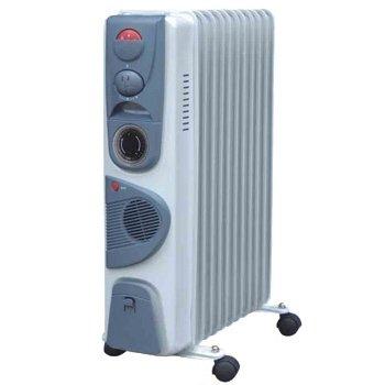 Масляный радиатор Aeronik C 1120 FT2.0 кВт<br>Современная модель масляного обогревателя Aeronik (Аероник) C 1120 FT послужит полезным приобретением для любого дома. Оборудование предназначено для напольной установки в помещениях со средней площадью. Обогреватель оборудован вентилятор, благодаря которому процесс обогрева занимает значительно меньше времени. Регулятор температуры позволят настроить устройство на нужный режим работы.<br>Особенности и преимущества:<br><br>Три уровня мощности.<br>Автоматический контроль температуры.<br>Пластиковая ручка.<br>Отсек для кабеля.<br>Колесики.<br>Модели стандартные (S), модели с вентилятором (F), модели с вентилятором и таймером (FT).<br><br>Масляные обогреватели Aeronik серии  C    бюджетные приборы для комфортного дополнительного обогрева бытовых, административных, коммерческих помещений. Линейка весьма разнообразна и представлена не только моделями с разной мощностью, но также и отличающимися комплектацией. Их исполнение соответствует самым высоким требованиям к качеству и безопасности, что делает масляные обогреватели Aeronik прекрасными представителями своего сегмента.<br><br>Страна: Австрия<br>Мощность, Вт: 2000<br>Площадь, м?: 20<br>Колво секций: 11<br>Напряжение, В: 220 В<br>Вес, кг: 17<br>Гарантия: 1 год