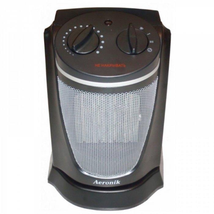 Керамический тепловентилятор Aeronik KRP-5BБытовые<br>Aeronik (Аероник) KRP-5B   это модель современного керамического тепловентилятора, предназначенного для обслуживания жилых и офисных помещений. Преимуществом модели является возможность работы в качестве обогревателя и вентилятора. Благодаря современному дизайну корпуса, агрегат может быть установлен в помещениях с любым интерьером.<br>Особенности и преимущества:<br><br>Обеспечивают быстрый и экономичный обогрев помещения.<br>Режим обогрева и работа в режиме вентиляции.<br>Защита от перегрева.<br>Оснащены поворотным механизмом.<br>Небольшие габариты.<br>Регулируемый термостат.<br>Индикатор включения.<br><br>Aeronik   известный производитель климатической техники, продукция которого пользуется особой расположенностью покупателей. В нашем интернет-            магазине посетители смогут найти тепловентиляторы от этого бренда, которые станут отличными помощниками в решении задачи дополнительного обогрева помещений. Кроме того, приборы могут работать и без обогрева, заменяя обычные вентиляторы для перемешивания воздуха.<br><br>Страна: Австрия<br>Мощность, кВт: 1,5<br>Площадь, м?: 15<br>Тип нагревательного элемента: Керамический<br>Тип регулятора: Механический<br>Защита от перегрева: Есть<br>Отключение при опрокидывании: Нет<br>Ионизатор: Нет<br>Дисплей: Нет<br>Пульт: Нет<br>Габариты, мм: 625х272х280<br>Вес, кг: 6<br>Гарантия: 1 год<br>Ширина мм: 272<br>Высота мм: 625<br>Глубина мм: 280