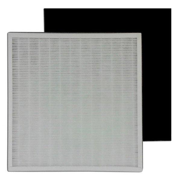 Очиститель воздуха Aic CF8500 фильтрФильтры и аксессуары<br>Комплект сменных фильтров для современного воздухоочистителя Aic CF8500 включает в себя три фильтра для более качественной обработки воздушных масс. Все фильтры Вы можете установить самостоятельно, не требуется вызывать специалиста; перед заменой убедитесь, что прибор отключен от электросети.<br>Послойный состав комплекта:<br><br>Предварительный фильтр. Задерживает наиболее крупные частицы, такие как волосы, перхоть, шерсть, крупные частицы пыли,  содержащиеся в воздухе.<br>Угольный фильтр. Состоит из активированного угля, изготовленного из скорлупы кокосового ореха. Активированный уголь из скорлупы кокосового ореха считается лучше любого другого, главным образом из-за небольшой структуры макропор, что делает его более эффективным для адсорбции газа, паров и удаления запаха. Удаляет из воздуха до 99% формальдегидов, бензолов, аммиака, других вредных газов и их составляющих.<br>HEPA фильтр. Самый максимальный класс по классификации фильтров высокой эффективности согласно ГОСТ Р 51215-99. HEPA фильтр отличается высокой эффективностью и предназначен для очистки воздуха от мельчайших частиц. Эффективно отделяет взвешенные частицы и задерживает вирусы, плесень и любые виды бактерий. Способен очищать воздух от частиц размером от 1 до 3 микрон и задерживать до 99,97% подобных частиц. Кроме того, HEPA фильтр задерживает до 80% частиц, размер которых составляет от 0,3 микрона. Данный фильтр позволяет практически избавиться от аллергенов, пыльцы, мелких частиц пыли в воздухе, перхоти людей и животных, бактерий, и др. Оказывает положительное воздействие при аллергических состояниях, а также сезонных эпидемиях гриппа и респираторных заболеваниях, рините (насморке).<br><br>Страна: Италия<br>Площадь, кв.м.: None<br>Расход воздуха, куб.м/ч: None<br>Мощность, кВт: None<br>Шум, дБА: None<br>Вес, кг: 1<br>Габариты, мм: None<br>Гарантия: 1 год