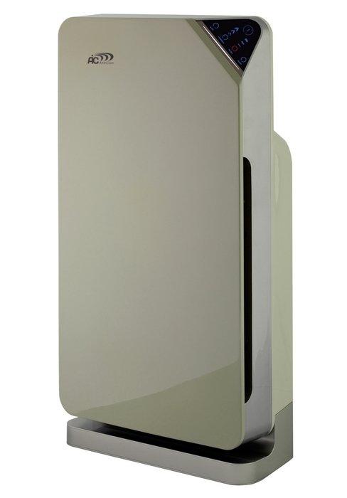 Очиститель воздуха Aic АР1101Cо сменными фильтрами<br>Очиститель воздуха AIC AP1101 оснащен автоматическим режимом оценки и контроля качества текущего состояния воздуха. Воздухоочиститель имеет специальные высокочувствительные сенсоры, обладающие максимальной точностью определения качества воздуха, вся полученная информация непрерывно поступает к микропроцессору. Происходит автоматизированный подбор скорости очистки воздуха.<br><br>Каталитическая очистка<br>3M True (14 класс) HEPA<br>Пульт ДУ<br>Ионизация<br>Сенсорное управление<br>Бесшумный двигатель BLDC<br>Высокоточные датчики<br>Индикатор качества воздуха<br>Авто и ночной режим<br>Датчик замены фильтров <br>Цветовой индикатор качества воздуха<br><br><br>Оборудование способно удалить все вредные загрязнения воздуха, такие как пыль, смог, вредные испарения от бытовой химии, споры плесени, грибок и разные неприятные запахи. Представленная модель разрабатывается и собирается с применением передовых технологий, которые улучшают процесс функционирования и прямые обязанности прибора. Соответствует нормам ISO 9001. С помощью нашего сайта Вы сможете пошагово подобрать оптимальный вариант именно для Вас и Вашей семьи.<br><br>Широкий ассортимент<br>Продукция высокого качества<br>Приемлемые цены<br><br> В продаже представлена разнообразная техника от бюджетных до дорогих вариантов, которые имеют разные уровни защиты и степени очистки. При необходимости можно приобрести воздухоочиститель для дома или офиса со специальными дополнительными функциями.  Даже после короткого периода использования снижается раздражение слизистой оболочки и приступы астмы. Быстрое и полноценное создание комфортной атмосферы в любом обслуживающем помещении. Чистый воздух способствует наилучшему развитию и росту новорожденных детей. Представленная модель несложного очистного прибора способна качественно очищать воздух от всех загрязнителей и вредных микроорганизмов, которые приносят вред человеческому организму. <br> <br><br><br><br><br><br><br><br><