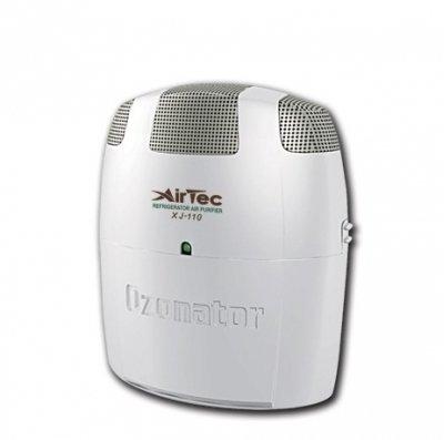 Очиститель воздуха AirTec XJ-110Без сменных фильтров<br>Компактный воздухоочиститель-ионизатор AirTec XJ-110   прекрасный выбор для холодильников. Его компактные размеры позволят с удобством разместить прибор на любой полке. Воздухоочиститель уничтожит неприятные запахи, остановит появление плесени и сохранит продукты свежими в течение длительного времени. Использование агрегата, так же как и его обслуживание, отличается простотой и безопасностью.<br>Преимущества воздухоочистителя-ионизатора AirTec XJ-110:<br><br>Создание направленного электрического поля.<br>Очистка от мелкодисперсной пыли.<br>Обогащение воздуха аэроионами кислорода.<br>Уничтожение неприятных запахов и бактерий.<br>Простое управление.<br>Компактные размеры и стильный дизайн.<br>Легкость обслуживания.<br>Высококачественное исполнение.<br>Безопасность эксплуатации.<br><br>Устройство прибора:<br><br>Вертикальный прямоугольный корпус.<br>Съемный батарейный отсек.<br>Светодиодный индикатор на передней части корпуса.<br>Три пылесборные металлические пластины в верхней части.<br>Металлическая гребенка с заостренными шпилями и узел генерации отрицательных ионов кислорода под пластинами.<br>Множество отверстий для воздуха на тыловой части.<br><br>Серия очистителей воздуха с генератором отрицательных ионов XJ разработана компанией AirTec для создания здоровых и комфортных климатических условий. Данная линейка включает в себя разнообразные приборы, которые имеют различное предназначение. Здесь есть очистители для помещений, для автомобилей и даже холодильников и обуви. Из широкого разнообразия каждый пользователь без труда подберет для себя необходимый агрегат. Стоит  отметить, что вся продукция компании AirTec отличается высоким качеством исполнения, а дизайн воздухоочистителей современен, лаконичен и эргономичен. <br><br>Страна: Тайвань<br>Производитель: Тайвань<br>Площадь, м?: 15<br>Воздухообмен мsup3;: 110<br>Колво режимов работы: 1<br>Сенсоры качества воздуха: Нет<br>Газоанализатор: Нет<br>Датчик пыли: Н