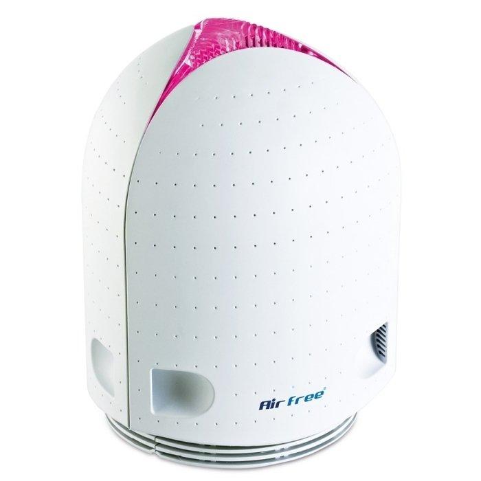 Очиститель воздуха без сменных фильтров Airfree Iris 150Без сменных фильтров<br><br>Высокая производительность при крайне экономичном энергопотреблении, полная химическая и электромагнитная нейтральность при идеально высоком качестве стерилизации воздуха   это лишь краткий перечень преимуществ очистителя воздуха инновационной модели AirFree Iris 150.<br>Прибор работает совершенно беззвучно, уничтожает все болезнетворные микроорганизмы, совершенно не имея никаких побочных эффектов.<br>Особенности прибора:<br><br>Эксклюзивная запатентованная технология очистки воздуха<br>Очистка воздуха без побочных эффектов<br>Технология термостерилизации воздуха<br>Не имеет сменных фильтров<br>Химически нейтральное керамическое ядро<br>Не вырабатывает ионов или озона<br>Не использует химическую очистку воздуха<br>Уничтожает все болезнетворные микроорганизмы<br>Разрушает вредные органические химические соединения<br>Низкий уровень энергопотребления<br>Автоматическая работа, не требующая управления или регулировки<br>Для запуска достаточно включить прибор в сеть<br>Полная безопасность прибора<br>Наличие термисторных датчиков безопасности<br>Термопредохранитель и токограничивающий предохранитель<br>Датчик наклона<br>Отсутствие в конструкции подвижных частей<br>Абсолютно бесшумная работа<br>Компактные размеры, малый вес<br>Привлекательный дизайн <br>Различные цветовые решения<br><br>Эффективные, безопасные и абсолютно экологичные очистители воздуха серии AirFree Iris могут использоваться в домашнем быту, на даче и в офисе, уничтожая все болезнетворные микроорганизмы и вредоносную органику. Запатентованная уникальная технология термостерилизации воздуха обеспечивает идеальную очистку воздуха, не выделяя в воздух химических соединений, не изменяя ионную структуру воздуха и не требуя замены сменных фильтров   их просто нет в конструкции прибора.<br>Принцип действия очистителей этой серии аналогичен очистке воды при кипячении и стерилизации предметов и материалов, поддающихся кипячению. Воз