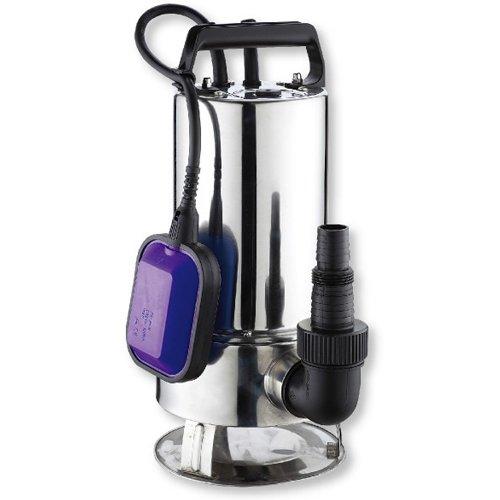 Дренажный насос Aquatic DW 1100 INOXДренажные насосы<br>Aquatic (Акватик) DW 1100 INOX &amp;ndash; это самый мощный дренажный насос серии, выполненный в качественном надежном корпусе из нержавеющей стали. Верхняя часть конструкции оборудована рифленой ручкой, что весьма важно для удобства эксплуатации приборов погружного типа, к которым относится рассматриваемая модель. Насос комплектуется поплавковым выключателем и десятиметровым кабелем с вилкой.<br>Основные преимущества дренажного насоса от бренда Aquatic:<br><br>Высокая производительность при низком потреблении электроэнергии.<br>Большая допустимая &amp;nbsp;высота подъема.<br>Работа с низким уровнем звукового давления.<br>Имеет низкое энергопотребление и небольшие габариты.<br>Незатруднительный монтаж.<br>Оборудован встроенным поплавком.<br>Предусмотрена защита двигателя от перегрузки.<br>Корпус насоса изготовлен из высококачественной стали или пластика.<br>В качестве материала изготовления вала используется нержавеющая сталь.<br>Рабочее колесо изготовлено из норила.<br>Механически переключатель скорости на корпусе устройства.<br>Высокий класс защиты &amp;ndash; IP68<br>Класс изоляции &amp;laquo;F&amp;raquo;.<br>Максимально допустимый напор &amp;ndash; 11 метров.<br>Долговечность эксплуатации.<br><br>Предлагаем вниманию профессионалов новинку 2015 года &amp;ndash; линейку дренажных насосов от торговой марки Aquatic, где абсолютно каждая модель продумана до мелочей, отличается высокой производительностью, качественными материалами производства и длительным, бесперебойным сроком эксплуатации. Модели оснащены поплавковым выключателем, который автоматически отключит работу устройства при падении уровня воды, а в случае ее поднятия работа приборов возобновляется. &amp;nbsp;&amp;nbsp;<br><br>Страна: Корея<br>Производитель: Китай<br>Качество воды: Грязная<br>Производительность, л/мин: 275<br>Max напор, м: 10,5<br>Max глубина погружения, м: None<br>Мощность, Вт: 1100<br>Напряжение сети, В: 220 В<br>Длина кабеля, м: Non
