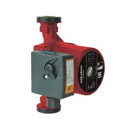 Циркуляционный насос Aquatic TL25/40-REDНасосы для отопления<br>Aquatic (Акватик) TL25/40-RED   это трёхскоростной насосный агрегат, разработанный для использования в системах отопления и кондиционирования воздуха, а также в составе промышленных систем циркуляции. Максимальная температура воды должна быть не более 110 градусов. Модель имеет поверхностный вариант размещения, управление производится регулятором, расположенным на корпусе прибора.<br>Основные преимущества циркуляционного насоса от бренда Aquatic:<br><br>Циркуляционный насос предназначен для перекачивания жидкости в системе трубопроводов.<br>Используется в системах отопления, кондиционирования, обогрева полов (теплый пол).<br>Насос работает практически бесшумно.<br>Имеет низкое энергопотребление и небольшие габариты.<br>Незатруднительный монтаж.<br>Предусмотрена защита двигателя от перегрузки.<br>Рабочая жидкость омывает подшипники скольжения и охлаждает их и ротор.<br>Не требуется уплотнения для вала.<br>Корпус насоса изготовлен из высокопрочного чугуна.<br>В качестве материала изготовления вала используется нержавеющая сталь.<br>Рабочее колесо изготовлено из норила.<br>Механически переключатель скорости на корпусе устройства.<br>Высокий класс защиты   IP42.<br>Долговечность эксплуатации.<br><br>Циркуляционные насосы от китайской торговой марки Aquatic представлены широким разнообразием моделей, среди которого есть продукты, предназначенные для установки в системы отопления.  Если такая система оснащена циркуляционным насосом, то обогрев помещений производится гораздо быстрее, вследствие чего увеличивается производительность оборудования и его КПД. Все модели от компании Aquatic изготовлены из высококачественных износоустойчивых материалов, что является гарантом долговечной и безукоризненной работы. <br><br>Страна: Корея<br>Производитель: Китай<br>Производ. л/мин: 40<br>диаметр подключ., d: 1 1/2<br>Монтажная длина, мм: 180<br>Мощность, Вт: 65<br>Напряжение сети, В: 220 В<br>Раб. давление, бар: 10<br>Ре