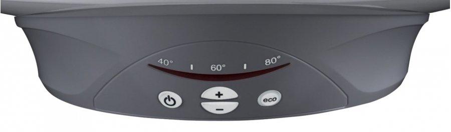 Электрический накопительный водонагреватель Ariston ABS PRO ECO INOX 50 V Slim50 литров<br>Настенный электрический водонагреватель  Ariston ABS PRO ECO INOX 50 V Slim идеально подойдет для обеспечения горячей водой вашей квартиры или загородного коттеджа. Представленная модель оснащена баком из нержавеющей стали, не подверженной образованию коррозии, объем которого50 литров. Оборудование оснащено современной системой защиты: отключается при перегреве, не включается без воды, стабильно работает при перепадах напряжения в электрической сети. Стоит отметить, что рассматриваемый прибор очень быстро нагревает воду, в то же время являясь экономичным по сравнению со своими аналогами.<br> <br>Основные характеристики представленной модели:<br><br>максимальная температура нагрева +80  C;<br>быстрый нагрев воды;<br>два нагревательных элемента мощностью 1,0 кВт и 1,5 кВт;<br>бак из нержавеющей стали с дополнительной защитой;<br>антибактериальное покрытие внутри бака;<br>Absolut Bodyguard System 2.0   новейшая система защиты:<br><br>от включения без воды;<br>от перегрева;<br>система автоматического отключения;<br><br>защита от возникновения очагов коррозии;<br>клапан безопасности в комплекте;<br>функция самодиагностики;<br>функция терморегулирования;<br>электронное управление;<br>магниевый анод;<br>уникальная технология распределения воды Nanomix;<br>интегрированный электронный термометр;<br>класс защиты IPX3;<br>встроенный блок питания;<br>автоклавный фланец, облегчающий профилактику;<br>однофазное подключения;<br>вертикальная установка;<br>цилиндрическая узкая форма корпуса (Slim);<br>гарантия качества от производителя.<br><br> <br>Ariston ABS PRO ECO INOX SLIM   это семейство водонагревательного электрического оборудования накопительного типа, которое предназначено исключительно для домашнего использования. Приборы этой линейки выполнены в узком корпусе, ширина которого всего353 мм, благодаря чему водонагреватели смогут разместиться в любом ограниченном пространстве или в угл