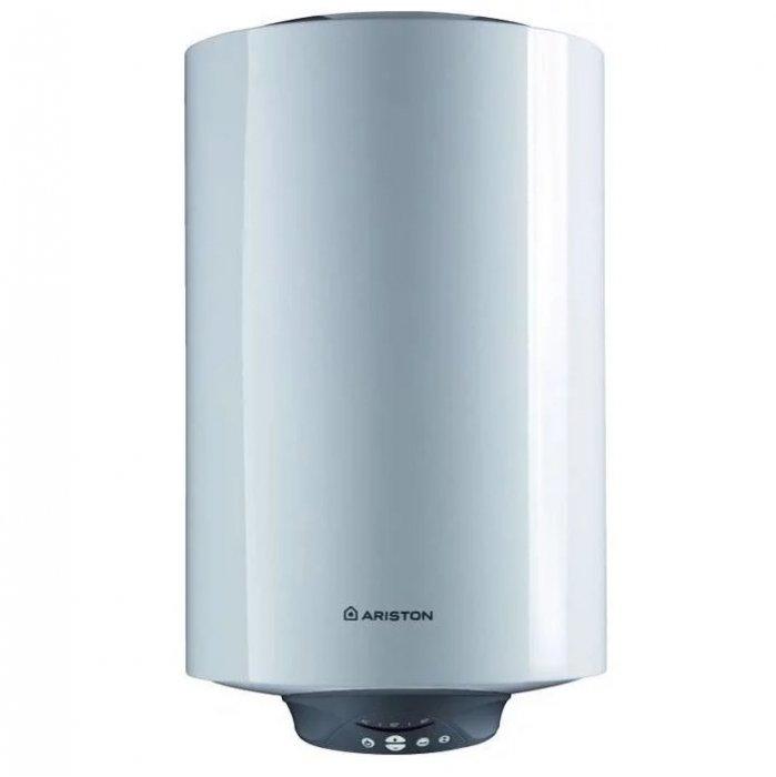 Электрический накопительный водонагреватель Ariston50 литров<br>Электрический водонагреватель накопительного типа Ariston ABS PRO ECO INOX PW 65 V Slim в узком исполнении   это идеальное решение проблемы снабжения горячей водой квартиры или частного домика. Рассматриваемая модель отличается компактностью форм, ускоренным нагревом воды до нужной температуры и исключительной безопасностью использования. Помимо этого, представленный прибор экономичен в потреблении электричества, что было достигнуто посредством использования двух нагревательных элементов, специальной технологии распределения воды в баке и надежной теплоизоляцией.<br> <br>Основные характеристики представленной модели:<br><br>вертикальное размещение на стене;<br>ускоренный нагрев воды благодаря наличию второго нагревательного элемента (1.5 кВт + 1кВт);<br>Absolut Bodyguard System 2.0   абсолютно безопасная система с устройством защитного отключения (УЗО);<br>активная электрическая защита;<br>защита от включения без воды;<br>ECO   профессиональная система защиты от бактерий;<br>накопительный бак из нержавеющей стали с дополнительной защитой;<br>узкая цилиндрическая форма бака (SLIM);<br>сварка MICRO PLAZMA TIG;<br>тестирование бака при 16 атм;<br>электронный термометр;<br>система автодиагностики;<br>NANOMIX   система распределения воды в баке;<br>хорошая теплоизоляция из пенополиуретана;<br>автоклавный фланец, облегчающий профилактику;<br>защита от перегрева;<br>надежность;<br>долговечность;<br>длительный срок гарантийного обслуживания.<br><br> <br>Семейство водонагревательных приборов Ariston ABS PRO ECO INOX POWER SLIM разработано специально для использования в домашних условиях. Все устройство этой линейки выполнены в узком цилиндрическом корпусе шириной353 мм, который отличается элегантностью форм и изящностью дизайна. Приборы Ariston ABS PRO ECO INOX POWER SLIM будут органично смотреться в любом окружении.<br><br><br>Страна: Италия<br>Производитель: Россия<br>Способ нагрева: Электрический<br>Нагревате