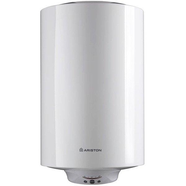 Электрический накопительный водонагреватель Ariston150 литров<br>Ariston ABS PRO ECO PW 150 V от всемирно известной итальянской компании Ariston оснащен накопительным баком на 150 литров, который выполнен из прочной высококачественной нержавеющей стали. Внутренняя поверхность накопительной емкости имеет покрытие AG+, которое осуществляет надежную защиту бака от возникновения очагов коррозии и разрушающего химического воздействия воды. Рассматриваемая модель водонагревателя предназначена для настенного размещения в вертикальном положении.<br> <br>Основные характеристики представленной модели:<br><br>FAST   ускоренный нагрев воды благодаря наличию второго ТЭНа (1,5 кВт + 1,0 кВт) ;<br>ABS 2.0   абсолютно безопасная система с устройством защитного отключения (УЗО);<br>надежная активная электрическая защита;<br>защита от включения без воды;<br>ECO   профессиональная система защиты от бактерий;<br>покрытие AG+ для защиты от коррозии и очищения воды;<br>удобная цилиндрическая форма бака;<br>уникальная технология сварки MICRO PLAZMA TIG;<br>тщательное тестирование бака при 16 атм;<br>увеличенный магниевый анод для дополнительной защиты;<br>встроенный электронный термометр;<br>система автодиагностики;<br>NANOMIX   уникальная система распределения воды в баке;<br>защита от перегрева;<br>длительный гарантийный срок эксплуатации.<br><br> <br>Линейка водонагревательных приборов ABS PRO ECO POWER SLIM от компании  Ariston   это оборудование, разработанное специально для домашнего использования. Весь модельный ряд данного семейства отличается ускоренным нагревом воды, эксклюзивным покрытием бака и цилиндрическим корпусом, благодаря которому приборы могут разместиться в любом удобном месте, даже в углу комнаты. Кроме того, приборы этой линейки являются обладателями стильного внешнего облика, который действительно органично и ненавязчиво впишется в любой интерьер.<br> <br><br>Страна: Италия<br>Производитель: Россия<br>Способ нагрева: Электрический<br>Нагревательный элемент: Жаросто