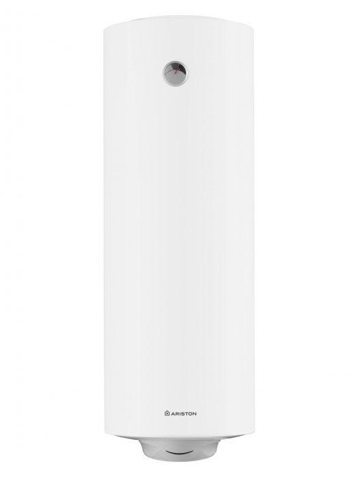 Водонагреватель Ariston ABS PRO R 150V150 литров<br>В электрическом накопительном водонагревателе Ariston ABS PRO R 150V&amp;nbsp;&amp;nbsp; реализованы новые технологии, которые способствуют весьма быстрому нагреву воды при минимальных затратах электрической энергии. Цилиндрический бак имеет вместимость150 литров. Встроен магниевый анод увеличенной массы, который осуществляет качественную защиту внутренней поверхности емкости от образования коррозии и налета. Плотный слой из пенополиуретана обеспечивает сохранность температурного режима приготовленной воды, что уменьшает потребление электроэнергии. Используется система ABS, которая повышает уровень безопасного использования. Внутренняя поверхность покрывается Ag+, что способствует уничтожению бактерий.<br>&amp;nbsp;<br>Основные характеристики представленной модели:<br><br>Ag+ - эксклюзивное внутреннее покрытие бака с добавлением ионов серебра для защиты от коррозии и очищения воды.<br>Сверхпрочный металлический внешний корпус.<br>Профессиональная система защиты от бактерий - одно нажатие кнопки на панели управления и запускается автоматический режим защиты воды от бактерий, благодаря оптимальному подбору температуры и скорости нагрева воды.<br>Сварка бака по технологии Micro Plazma Tig.<br>ABS 2.0 - система безопасности, включающая в себя защитное УЗО (устройство защитного отключения), активную электрическую защиту (снижена вероятность выхода прибора из строя из-за перепадов напряжения в сети) и защиту включения без воды.<br>Наружный регулятор температуры.<br>Максимальная рабочая температура - 80 С.<br>Увеличенная теплоизоляция из полиуретана.<br>Внешний термометр, выполненный из ударопрочного прозрачного поликарбоната.<br>Уникальная форма рассекателя, позволяющая получить больше воды для душа за меньшее время.<br>Монтаж - настенный.<br>Электрический кабель в комплекте.<br>Многофункциональный предохранительный клапан.<br>Тестирование бака при давлении 16 бар.<br>Защита от попадания брызг.<br><br>&amp;nbsp;<br>Элект