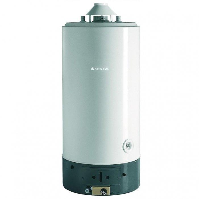 Водонагреватель Ariston SGA 200 R200 литров<br>Ariston SGA 200 R – это накопительный газовый нагреватель воды, который предназначен для использования в бытовых целях. Модель характеризуется небольшим расходом газа, поддержкой постоянной температуры, а также комфортом в использовании. Водонагреватель оснащен простым управлением – регулировка температуры осуществляется регулятором, который вынесен на переднюю панель, зажигание производится при помощи пьезоэлемента. Подключение к электрической сети не требуется.<br>Основные особенности представленной модели:<br><br>полная адаптация к российским условиям (устойчивая работа при пониженном входном давлении воды и газа);<br>естественная тяга и открытая камера сгорания;<br>экономичный расход газа;<br>внешний корпус выполнен из стали;<br>эксклюзивное высокостойкое эмалевое покрытие внутренней поверхности бака;<br>пьезозажигание с термопарой для контроля пламени;<br>магниевый анод;<br>газовый клапан с тремя устройствами безопасности (термопара, датчик предельной температуры и датчик дымоудаления) ;<br>возможность перевода на сжиженный газ;<br>энергонезависимость (работа без подключения к электрической сети) ;<br>возможно последовательное/параллельное подключение;<br>внешние регулятор и индикатор температуры воды;<br>современная, экологически чистая пенополиуретановая теплоизоляция позволяет снизить теплопотери на 15-20%;<br>гарантия качества от производителя.<br><br><br><br>Накопительные водонагреватели от итальянской компании-разработчика Ariston обеспечивают комфортное снабжение горячей водой, вне зависимости от температуры входящей воды и единовременного потребления. Все модели выполнены в современном, стильном дизайне и имеют небольшие габаритные размеры, благодаря чему успешно вписываются в любой интерьер. Данные приборы нашли широкое применение не только в бытовых, но и в промышленных целях.<br><br>Страна: Италия<br>Производитель: Италия<br>Перевод на сжиженный газ: Да<br>Магниевый анод: Да<br>Объем, л: 200<br>Темп. наг