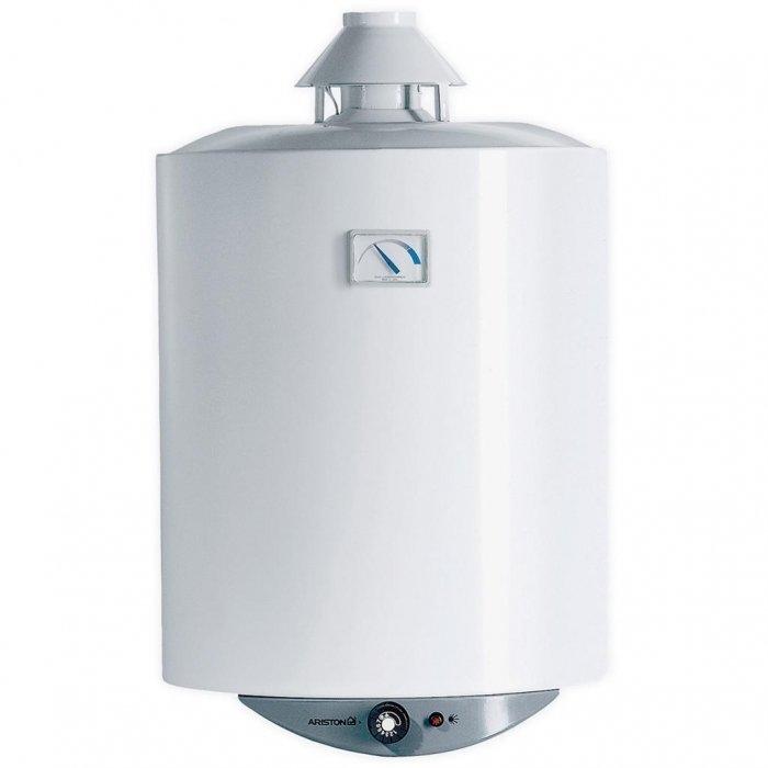 Водонагреватель Ariston S/SGA 50 R50 литров<br>Ariston S/SGA 50 R   это газовый накопительный водонагреватель, отличительной особенностью которого является бак, защищенный слоем эмали и снабженный магниевым анодом, который увеличивает антикоррозионные свойства бака. Водонагреватель оснащен трехступенчатой системой безопасности. При этом прибор не требует подключения к электросети и имеет высокую производительность. Максимальная мощность водонагревателя 3 кВт.<br>Основные особенности представленной модели:<br><br>полная адаптация к российским условиям (устойчивая работа при пониженном входном давлении воды и газа);<br>естественная тяга и открытая камера сгорания;<br>экономичный расход газа;<br>внешний корпус выполнен из стали;<br>эксклюзивное высокостойкое эмалевое покрытие внутренней поверхности бака;<br>пьезозажигание с термопарой для контроля пламени;<br>магниевый анод;<br>газовый клапан с тремя устройствами безопасности (термопара, датчик предельной температуры и датчик дымоудаления) ;<br>возможность перевода на сжиженный газ;<br>энергонезависимость (работа без подключения к электрической сети) ;<br>возможно последовательное/параллельное подключение;<br>внешние регулятор и индикатор температуры воды;<br>современная, экологически чистая пенополиуретановая теплоизоляция позволяет снизить теплопотери на 15-20%;<br>гарантия качества от производителя.<br><br> <br>Накопительные водонагреватели от итальянской компании-разработчика Ariston обеспечивают комфортное снабжение горячей водой, вне зависимости от температуры входящей воды и единовременного потребления. Все модели выполнены в современном, стильном дизайне и имеют небольшие габаритные размеры, благодаря чему успешно вписываются в любой интерьер. Данные приборы нашли широкое применение не только в бытовых, но и в промышленных целях.<br> <br> <br><br>Страна: Италия<br>Производитель: Италия<br>Перевод на сжиженный газ: Да<br>Магниевый анод: Да<br>Объем, л: 50<br>Темп. нагрева, С: 75<br>Давление: None<br>Мощность, кВ