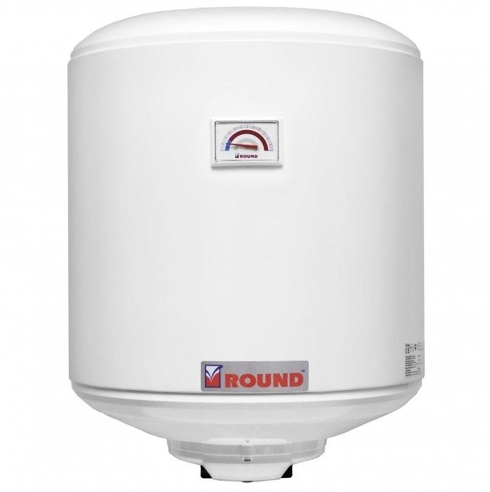 Водонагреватель Atlantic Round 5050 литров<br>Накопительный водонагреватель на 50 литров с механическим управлением Atlantic Round 50 выполнен из высококачественной стали и покрыт защитной эмалью с добавлением циркония. На внутреннюю поверхность бака эмаль наносится путем напыления, благодаря чему она равномерно распределяется. В отличие от проточного, прибор обеспечивает более высокую температуру подогрева воды.&amp;nbsp;<br><br>Страна: Франция<br>Производитель: Украина<br>Способ нагрева: Электрический<br>Нагревательный элемент: Медный<br>Объем, л: 50<br>Темп. нагрева, С: 65<br>Мощность, кВт: 1,5<br>Напряжение сети, В: 220 В<br>Плоский бак: Нет<br>Узкий бак Slim: Нет<br>Магниевый анод: Да<br>Колво ТЭНов: 1<br>Дисплей: Нет<br>Сухой ТЭН: Нет<br>Защита от перегрева: Есть<br>Покрытие бака: Стеклокерамика<br>Тип установки: Вертикальная<br>Подводка: Нижняя<br>Управление: Механическое<br>Размеры ШхВхГ, см: 43,3x58,3x45<br>Вес, кг: 16<br>Гарантия: 3 года<br>Ширина мм: 433<br>Высота мм: 583<br>Глубина мм: 450