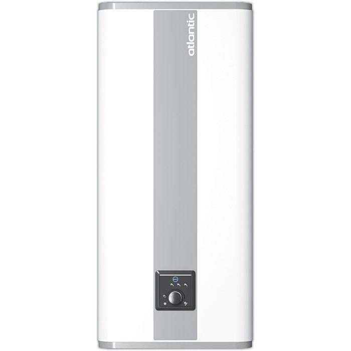 Накопительный водонагреватель на 50 литров Atlantic Vertigo Steatite 5050 литров<br>Плоский накопительный водонагреватель на 50 литров Atlantic (Атлантик) Vertigo 50   это вертикальный водонагреватель, оснащенный плоским пятидесятилитровым баком для хранения горячей воды. Производитель позаботился о хорошей термоизоляции накопительной емкости, что позволяет дольше сохранять нужную температуру воды. Комплектация включает и термостат электронного типа   для точного контроля за температурным режимом.<br><br>Страна: Франция<br>Производитель: Франция<br>Способ нагрева: Электрический<br>Нагревательный элемент: Трубчатый<br>Объем, л: 40<br>Темп. нагрева, С: 70<br>Мощность, кВт: 2,25<br>Напряжение сети, В: 220 В<br>Плоский бак: Да<br>Узкий бак Slim: Нет<br>Магниевый анод: Нет<br>Колво ТЭНов: 1<br>Дисплей: Нет<br>Сухой ТЭН: Да<br>Защита от перегрева: Да<br>Покрытие бака: Эмаль<br>Тип установки: Вертикальная/Горизонтальная<br>Подводка: Нижняя<br>Управление: Цифровое<br>Размеры ШхВхГ, см: 49x76.5x29<br>Вес, кг: 19<br>Гарантия: 2 года<br>Ширина мм: 490<br>Высота мм: 765<br>Глубина мм: 290