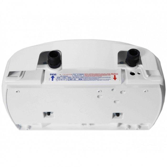 Водонагреватель Atmor CLASSIC 501 5000 Универсал (душ + кран)5 кВт<br>Безнапорный проточный водонагреватель 5 кВт для квартиры Atmor (Атмор)&amp;nbsp;CLASSIC 501 5000 Универсал (душ + кран) &amp;ndash; это шанс создать резервный источник горячего водоснабжения, благодаря чему, в случае отключения основного, вы никогда не останетесь без горячей воды. Модель исполнена из качественных материалов, белоснежный пластиковый корпус устойчив к состариванию, не теряет первоначального облика даже после нескольких лет эксплуатации. Для сохранности нагревательных элементов производитель рекомендует использовать фильтры очистки воды. Прекрасный выбор для душевой или ванной комнаты.&amp;nbsp;<br><br>Страна: Израиль<br>Производитель: Китай<br>Темп. нагрева, С: 65<br>Способ нагрева: Электрический<br>Производительность: 3<br>Мощность, кВт: 5.0<br>Защита от перегрева: Есть<br>LCD дисплей: Нет<br>Управление: Механическая<br>Тип установки: Горизонтальная<br>Подводка: Нижняя<br>Комплектация: Душ / Кран<br>Тип подачи: Безнапорный<br>Напряжение сети, В: 220 В<br>Габариты ШхВхГ, см: 22x39x9<br>Вес, кг: 3<br>Гарантия: 2 года<br>Ширина мм: 220<br>Высота мм: 390<br>Глубина мм: 90