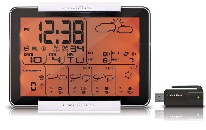 Цифровая метеостанция Atomic W918010С радиодатчиком<br>Профессиональная метеостанция станет отличным выбором для тех пользователей, которым достаточно прогноза погоды, полученного через интернет &amp;ndash; именно так работает сетевая модель, получает данные о погоде на улице и выводит их на дисплей. Помимо точного прогноза погоды (на ближайшие 4 дня) станция&amp;nbsp;W918010 Atomic&amp;nbsp;измеряет (и выводит на дисплей) температуру воздуха в помещении, показывает текущее время, дату, то есть работает как электронные часы-календарь. Устройство может использоваться в качестве автомобильного.<br><br>Страна: Канада<br>Диапазон темп. t, С: +5+45<br>Диапазон p, мм. рт. ст.: None<br>Диапазон rH, : None<br>Разрешение t, С: 0,1<br>Цвет корпуса: Серый<br>Питание, В: Батарейки<br>Колво батареек: АА<br>Тип батарейки: 3<br>Адаптер к 220В: Нет<br>В комнате t, С: Да<br>За окном t, С: Да<br>Влажность в помещении: Нет<br>Влажность за окном: Нет<br>Давление: None<br>Прогноз погоды: Да<br>Лунный календарь: Нет<br>Размер, мм: 204x36x154<br>Вес, кг: 1<br>Гарантия: 1 год<br>Ширина мм: 36<br>Высота мм: 204<br>Глубина мм: 154