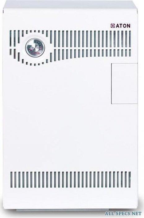 Котел Aton Compact АОГВМНД-7ЕB10 кВт<br>Котлы, выпускаемы компанией ATON, АОГВМНД оснащены герметичной камерой сгорания и применяются для снабжения горячей водой и теплом жилых домов, квартир, коммунальных сооружений и зданий другого типа, имеющие в своём составе систему водяного отопления и теплоноситель с естественной либо принудительной циркуляцией, а также систему, снабжающую здания горячей водой, которая использует природный газ с низким давлением.<br>Компания ATON изготавливает парапетные газовые котлы с возможностью установки на стену. Данные котлы оборудованы закрытой камерой сгорания с мощностью на выходе 7, 10, 12,5 и 16 кВт. Специфические характеристики котлов ATON, позволяют использовать их в зданиях и сооружениях, имеющих теплоноситель с естественной циркуляцией. Горение воздуха и отвод ненужных продуктов сгорания обеспечивается за счёт горизонтального дымовоздухоотвода, оснащённого двумя трубами, расположенные на внешней стене сооружения.<br>Котлы ATON АОГВМНД не используют для своей эксплуатации электроэнергию и крепятся около внешней стены здания. Данные котлы производятся в однофункционных и двухфункционных версиях. Следует  отметить  отличительную характеристику котлов компании ATON   возможность универсального подключения, благодаря которому обеспечивается лёгкость, простота и комфортность монтажных и технических работ.<br>Характерные преимущества и плюсы котлов  ATON АОГВМНД:<br><br>Котлы АОГВМНД не требуют подключения дымохода, а соответственно дополнительных работ.<br>Данные котлы работают без использования электроэнергии.<br>Имеется возможность универсального монтажа в индивидуальных квартирах и частных домах.<br>Конструкторская надёжность и лёгкость котла.<br>Индивидуальное и современное дизайнерское решение, при изготовлении котлов.<br>Высококачественная и квалифицированная сборка котлов.<br>Малые габариты, благодаря которым котёл не требует много место и его можно устанавливать в  любом месте дома, квартиры.<br>Элементы от ведущих мировых л