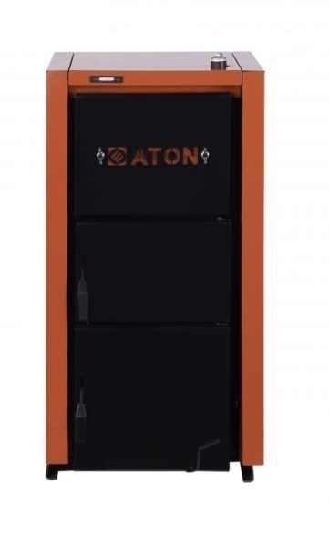 Котел Aton TTK Multi 1616 кВт<br>Водогрейный котёл для работы на твердом топливе - TTK Multi 16 от ATON. Водогрейный котёл со стальным теплообменником и водоохлаждаемыми колосниками имеет хороший показатель КПД. Котёл работает на твердых видах топлива, загрузка топлива осуществляется вручную.<br>Преимущества котла серии TTK Multi от ATON:<br><br>Напольная установка;<br>Котёл работает на твердом топливе, в качестве которого могут быть использованы дрова, бурый и каменный уголь, антрацит, торфяные брикеты и фрезерный торф;<br>Теплообменник выполнен из котловой стали толщиной 4 мм;<br>Ручная загрузка топлива; широкая дверца облегчает процесс загрузки топлива;<br>Теплообменник с горизонтальными конвекционными каналами;<br>Теплоизоляция из высококачественной минеральной ваты;<br>Высокий КПД (78%) за счет использования охлаждаемых колосников;<br>Котёл комплектуется механическим регулятором тяги;<br>Предусмотрена возможность увеличения время горения топлива до 12 часов (с помощью дополнительно комплектации котла вентилятором и блоком автоматического управления);<br>Энергонезависимость;<br>Простота обслуживания и эксплуатации.<br><br>Твердотопливные котлы &amp;ndash; один самых простых и достаточно эффективных типов оборудования, которое имеет длительный срок службы. Котлы работают на недорогом и доступном топливе &amp;ndash; это могут быть как дрова или уголь, а также торф. Одним из преимуществ котлов, к которым относиться рассматриваемая модель является полная энергонезависимость &amp;ndash; такой котёл может работать без подключения к электрической сети. Котёл данного типа имеет высокий показатель КПД &amp;ndash; почти 80%, это достигается благодаря водоохлаждаемым колосникам, которые увеличивают площадь теплообмена. Оборудование имеет привлекательную цену, благодаря чему может устанавливаться в малобюджетных проектах, например, это идеальный вариант для отопления небольшого дачного домика или индивидуального жилого дома, расположенного в сельской местности.<br><br>Стран