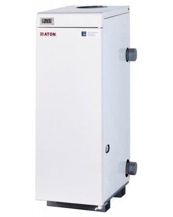 Котел Aton АОГВМ-10Е/ЕМ10 кВт<br>Отопительный газовый котел, имеющий по два отводящих и подводящих патрубка, Aton (Атон) АОГВМ -10Е/ЕМ — это серьезное устройство, которое, за счет собственных компактных размеров, может быть расположено в любых жилых сооружениях, где требуется создать комфортные и благоприятные климатические условия для проживания. Агрегат не требует оборудования помещения дымоходом.<br>Главные особенности представленной модели из серии напольных газовых колов от производителя Aton:<br><br>Котлы предназначенные для работы на природном газе и могут эксплуатироваться при параллельном подключении в единую отопительную систему;<br>Не требуют внешнего источника электропитания;<br>Возможный вариант исполнения с функциями отопления и горячего водоснабжения;<br>Котлы имеют привлекательный внешний вид, порошковая окраска обеспечивает стойкое к внешним воздействиям покрытие;<br>Высокая экономичность позволит Вам существенно экономить газ;<br>Компактные;<br>Высокая надежность и безопасность в работе, благодаря применению газовой автоматики EUROSIT;<br>Щелевая низкофакельная горелка фирмы POLIDORO, изготовленная с применением лазерных технологий;<br>Простота в обслуживании, благодаря оригинальной конструкции теплообменника;<br>Антикоррозийная обработка поверхностей котла;<br>Идеальное сочетание по таким характеристикам как Цена, Эффективность, Качество.<br><br>Котлы дымоходные газовые серии Atmo ЕМ — это отопительное оборудование для напольной установки, которое обеспечивает создание комфортного температурного режима внутри жилых помещений при условии экономичного использования газообразного топлива (является одним из самых доступных и дешевых источников энергии). Аппараты из данной серии полностью безопасны и имеют долгий срок службы.                     <br><br>Страна: Украина<br>Производство: Украина<br>Тип котла: Энергозависимые<br>Режим работы: Отопление<br>Камера сгорания: Открытая<br>Горелка: Атмосферная<br>Тип розжига: Пьезорозжиг<br>Материал теплобмненн